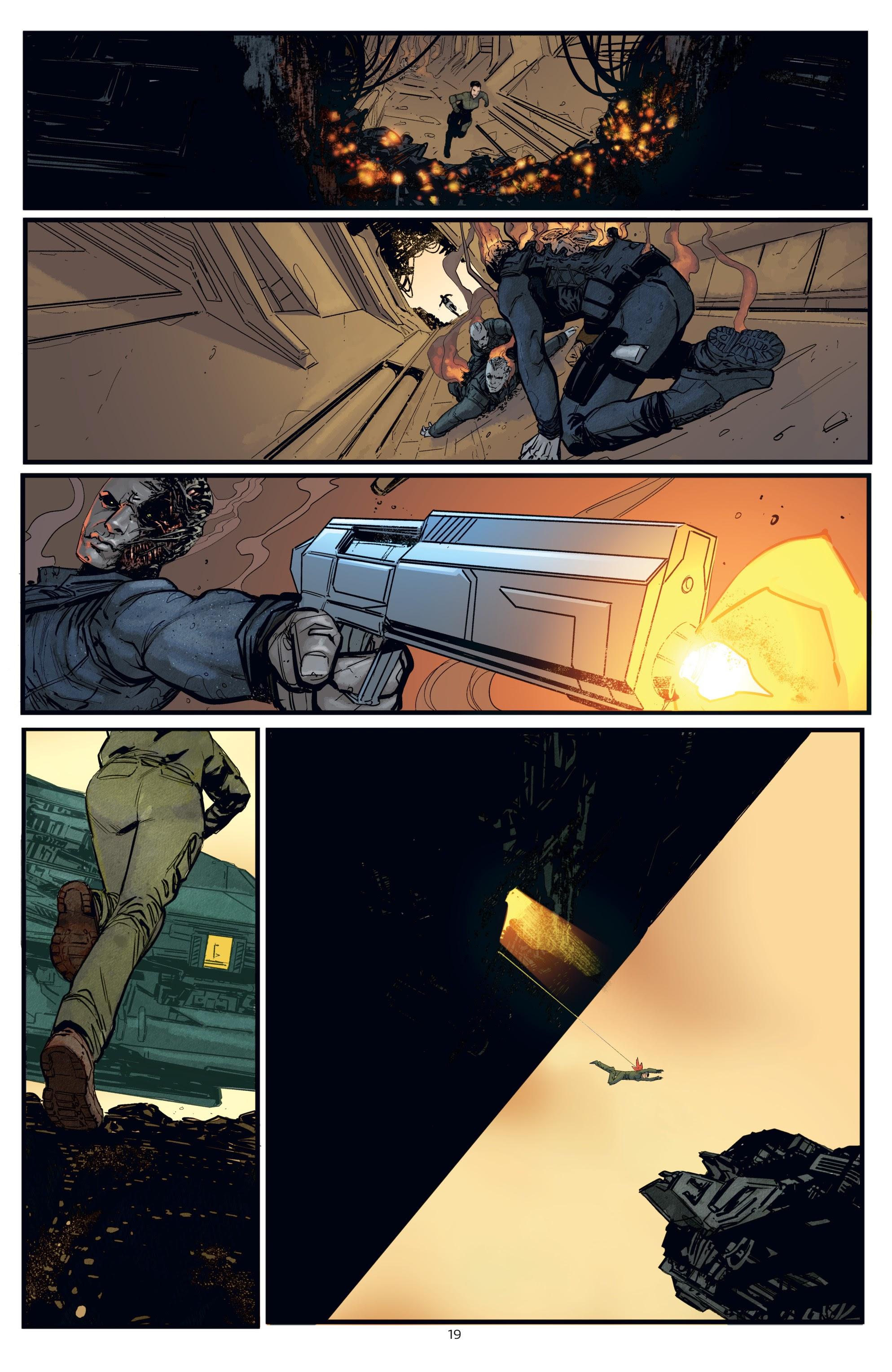 Read online Aliens: Resistance comic -  Issue # _TPB - 19