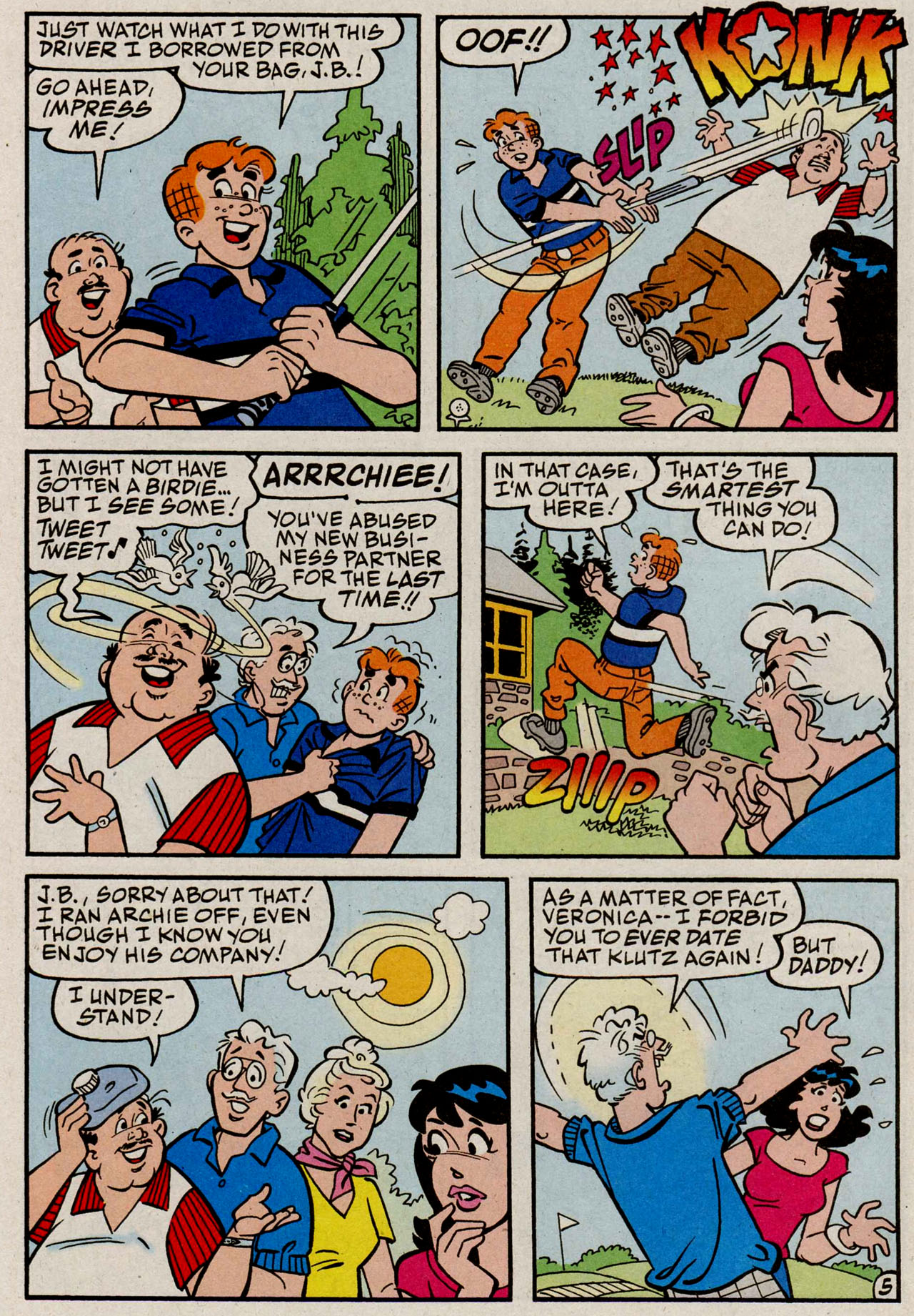 Read online Archie (1960) comic -  Issue #585 - 17