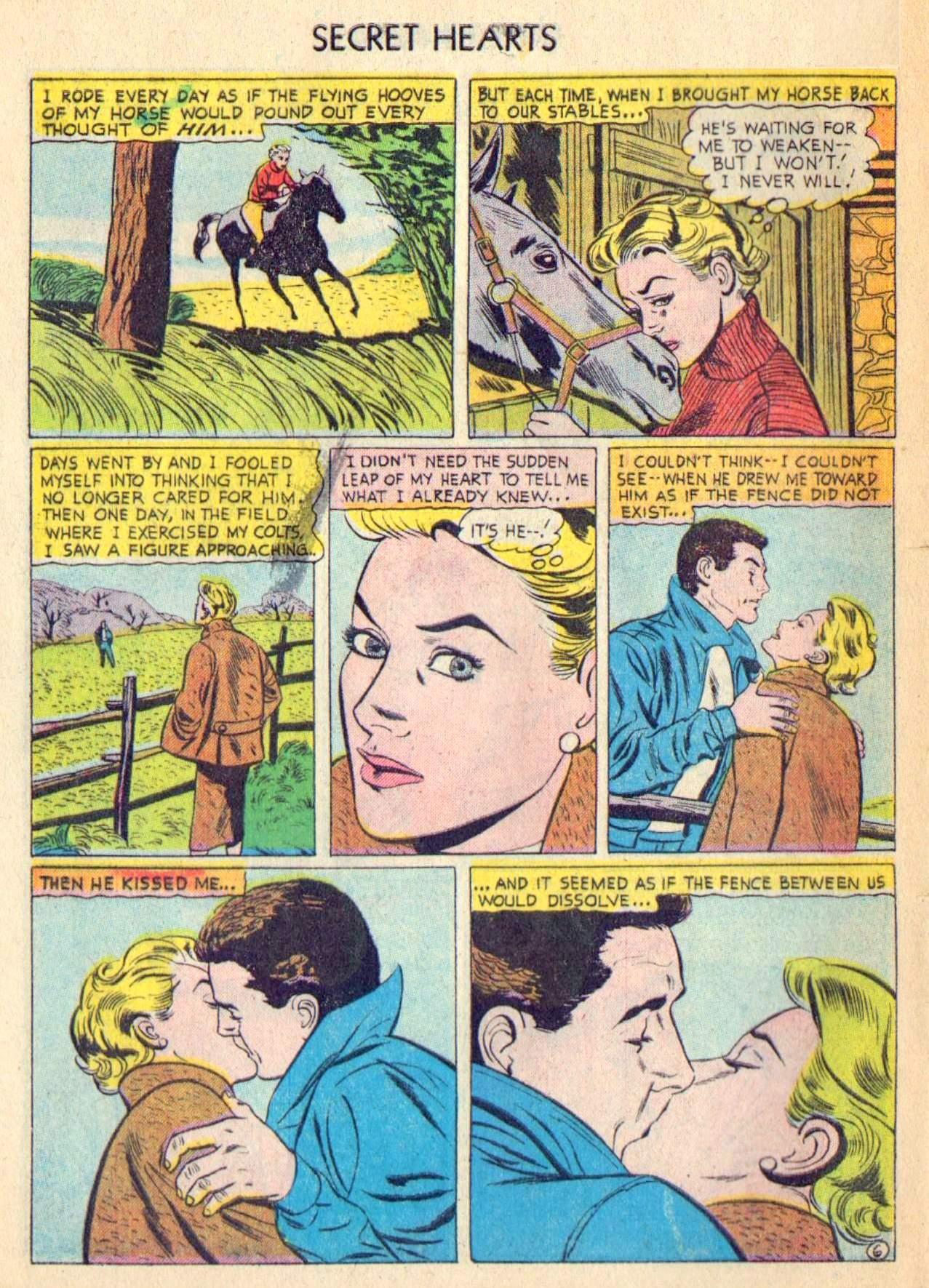 Read online Secret Hearts comic -  Issue #31 - 32