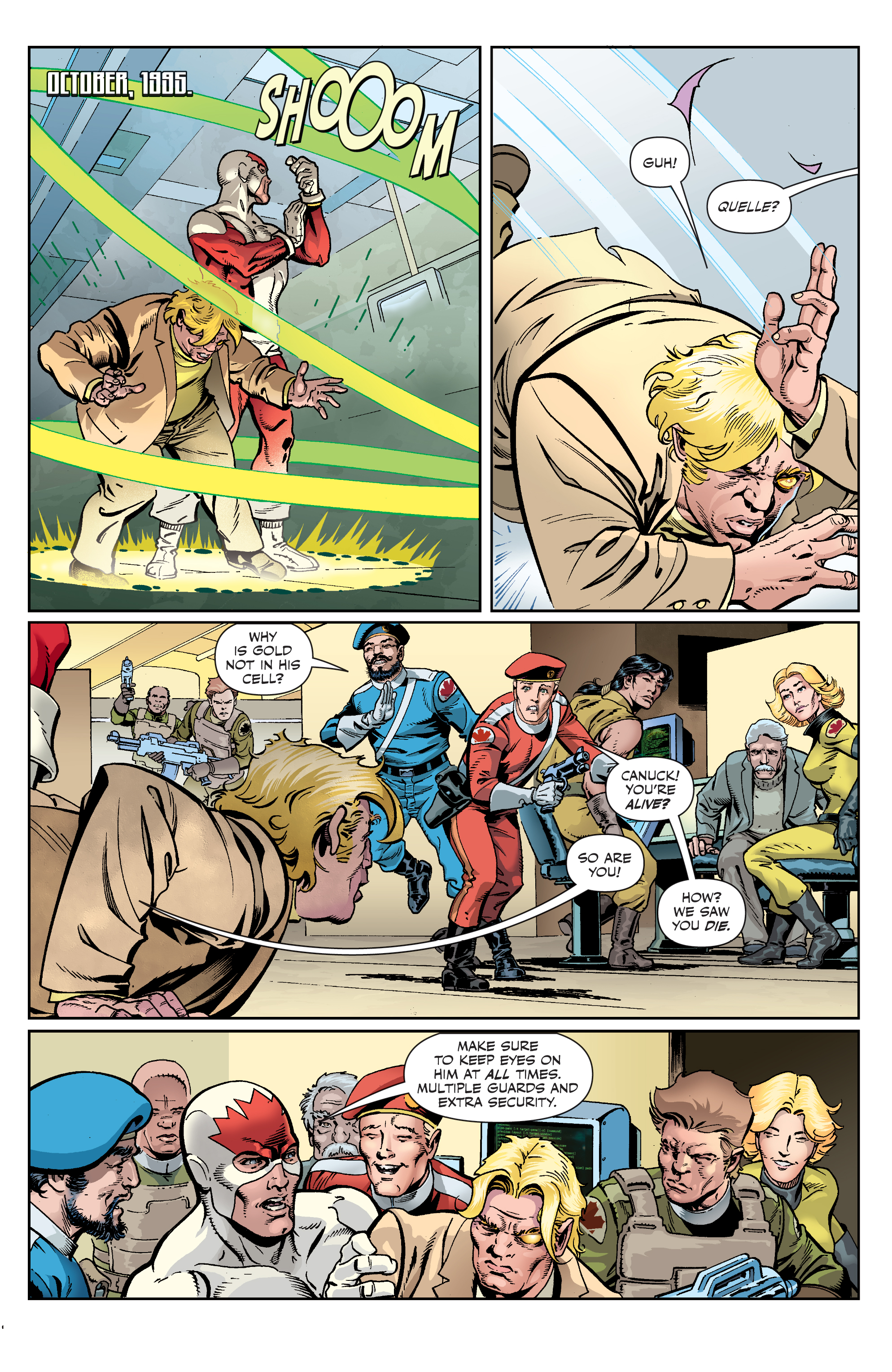 Read online All-New Classic Captain Canuck comic -  Issue #4 - 20