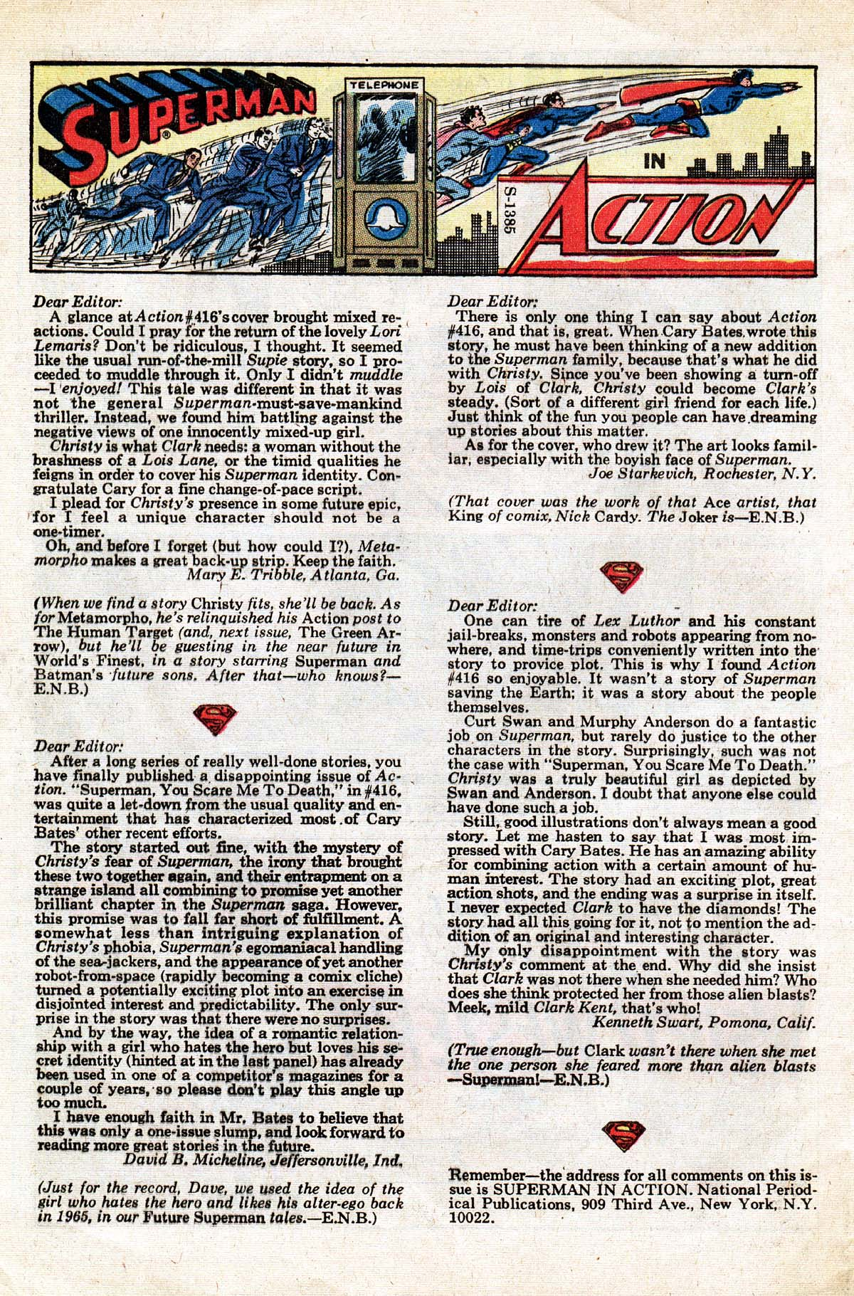 Read online Action Comics (1938) comic -  Issue #420 - 32