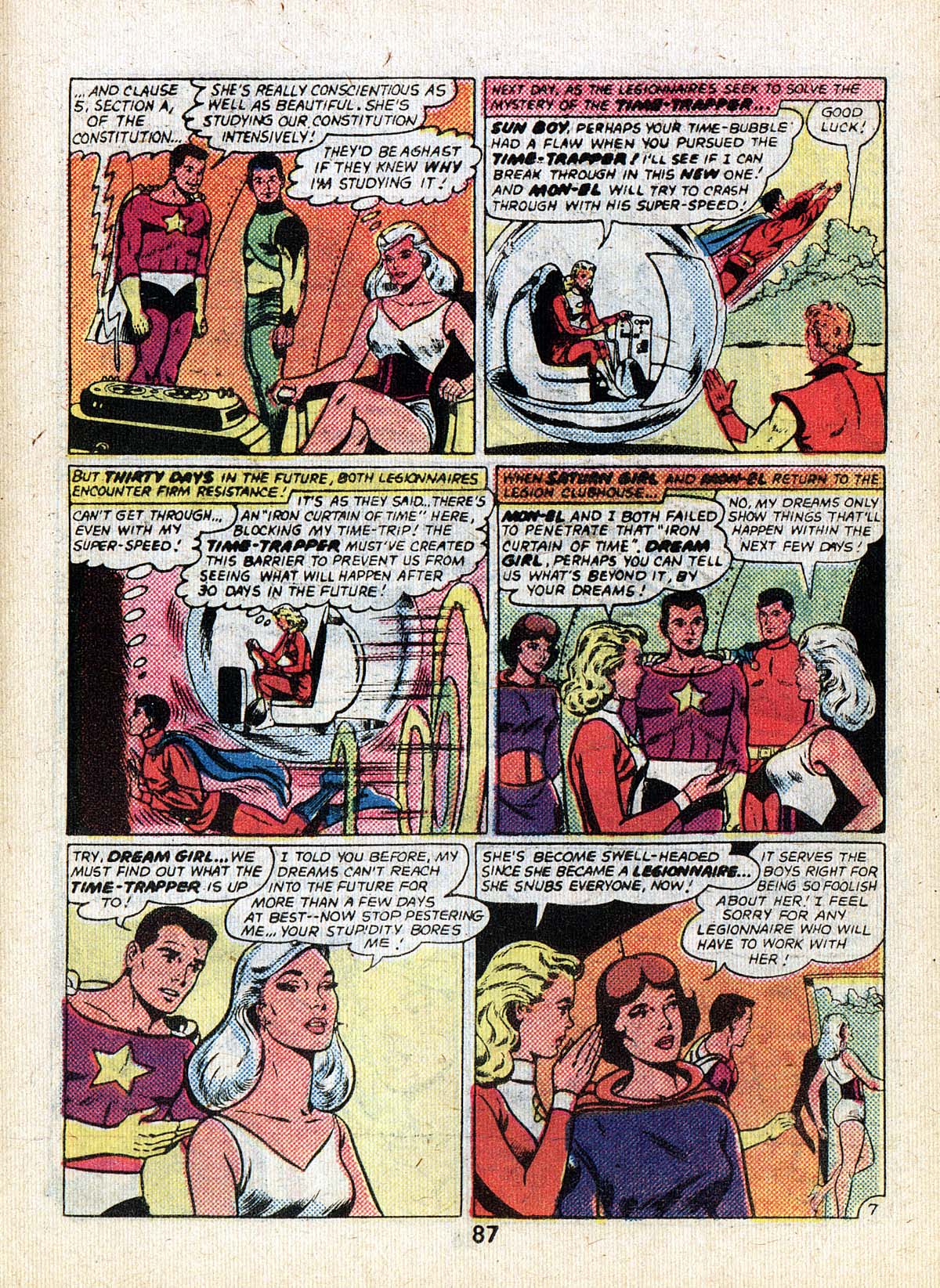 Read online Adventure Comics (1938) comic -  Issue #502 - 87