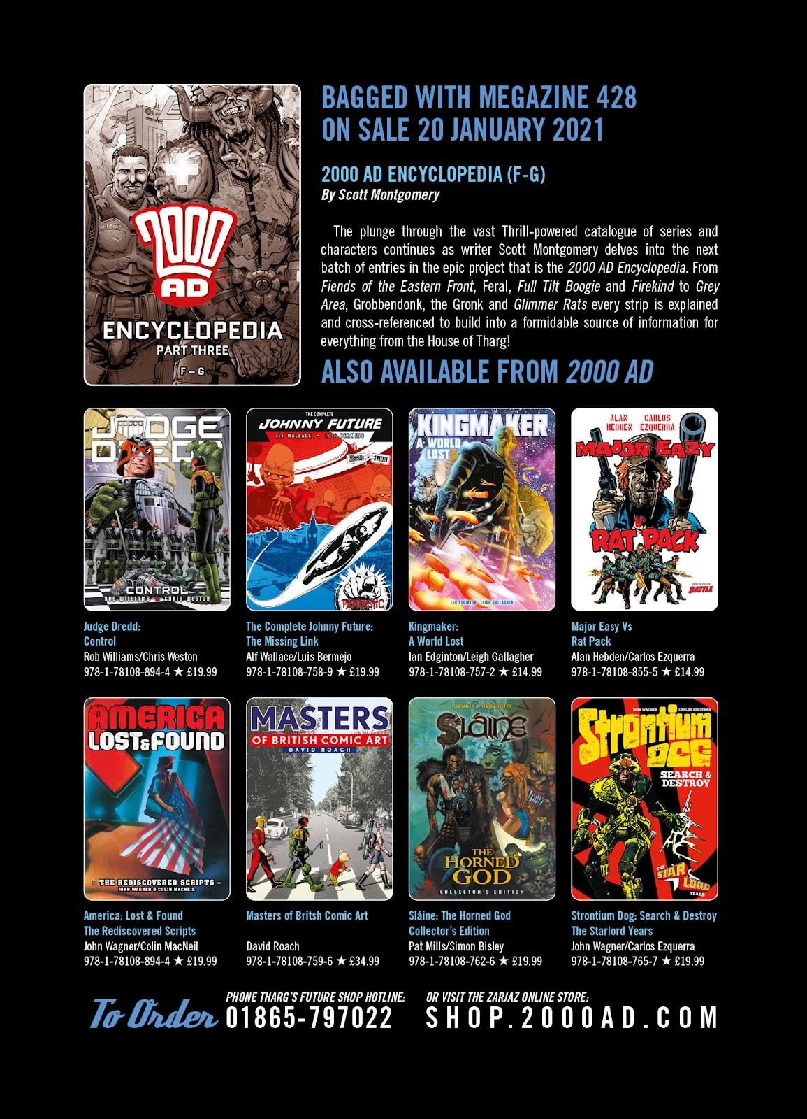 Judge Dredd Megazine (Vol. 5) issue 427 - Page 130