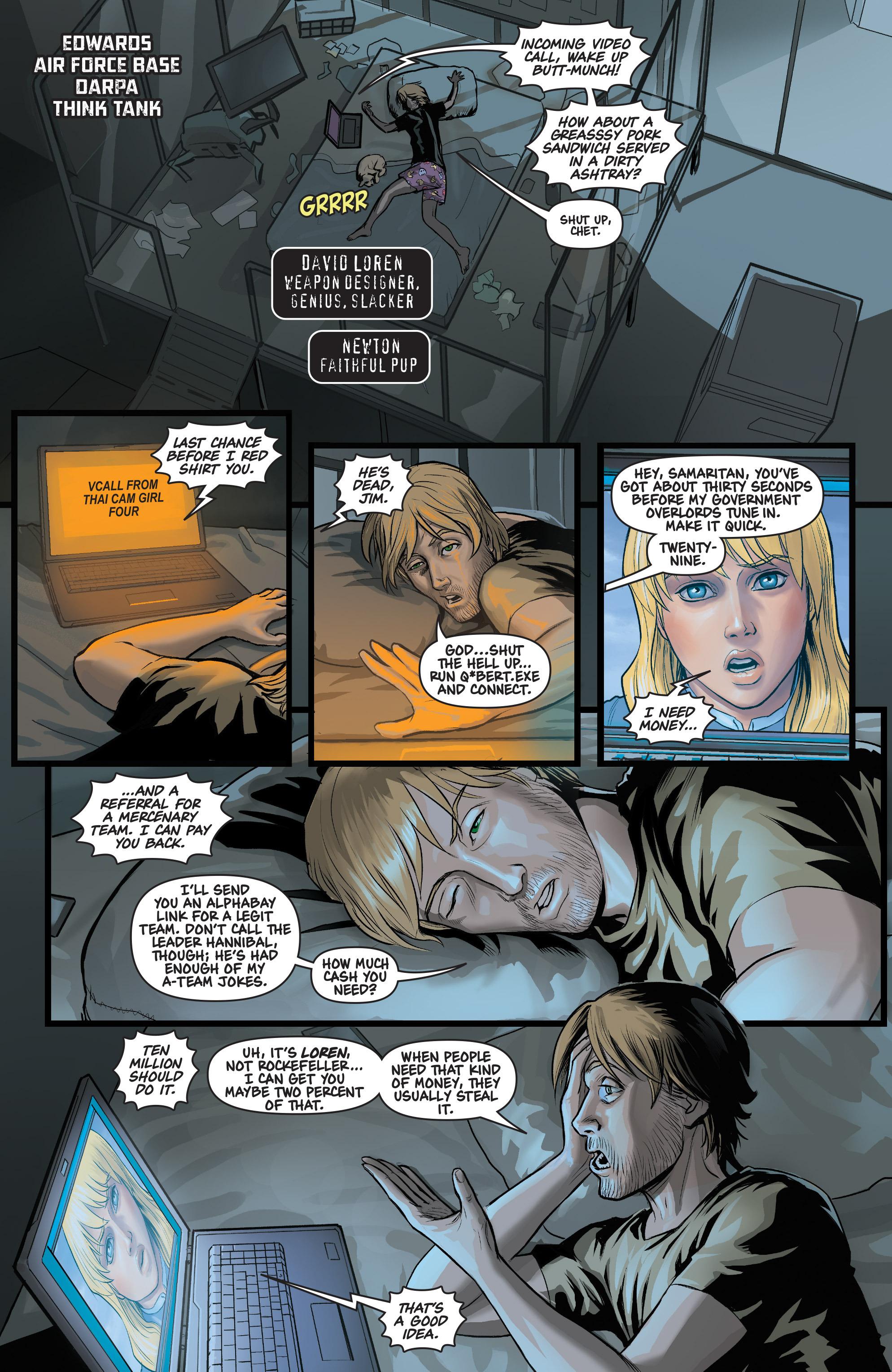Read online Samaritan: Vertias comic -  Issue #1 - 11