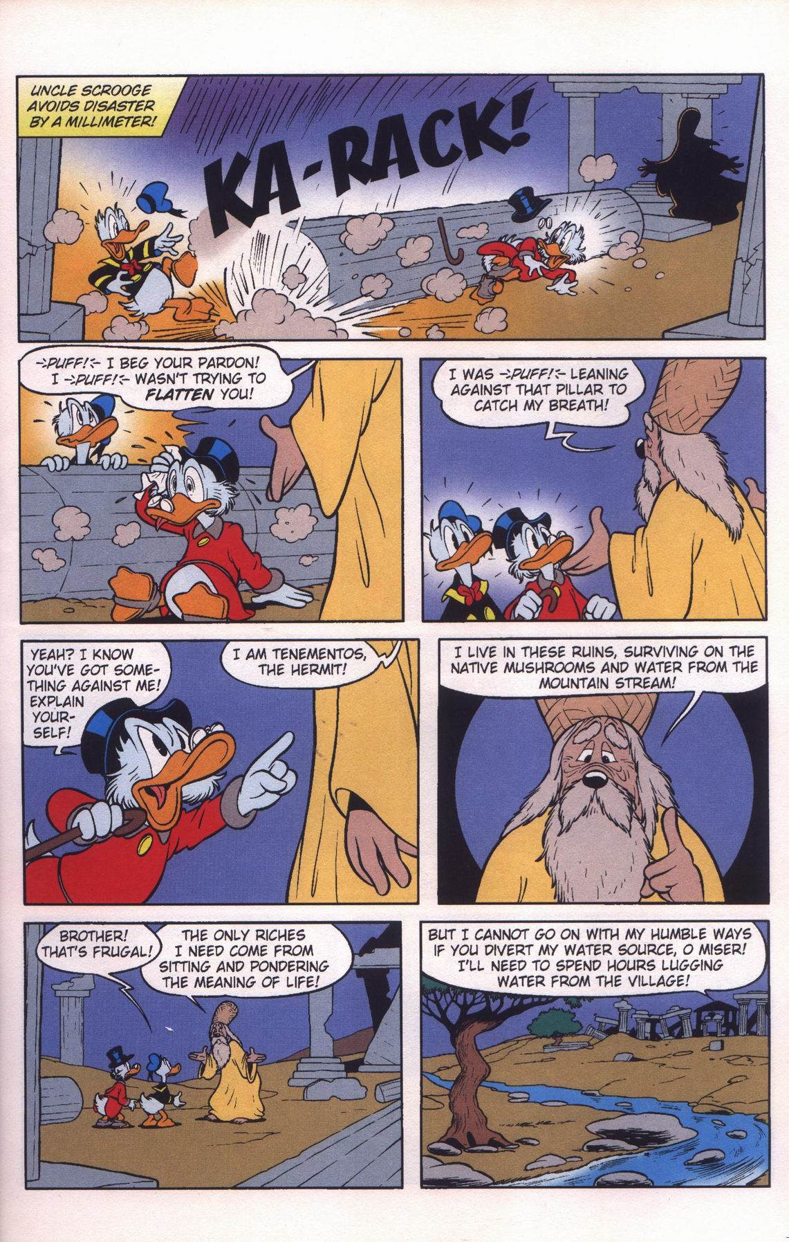 Read online Uncle Scrooge (1953) comic -  Issue #312 - 15