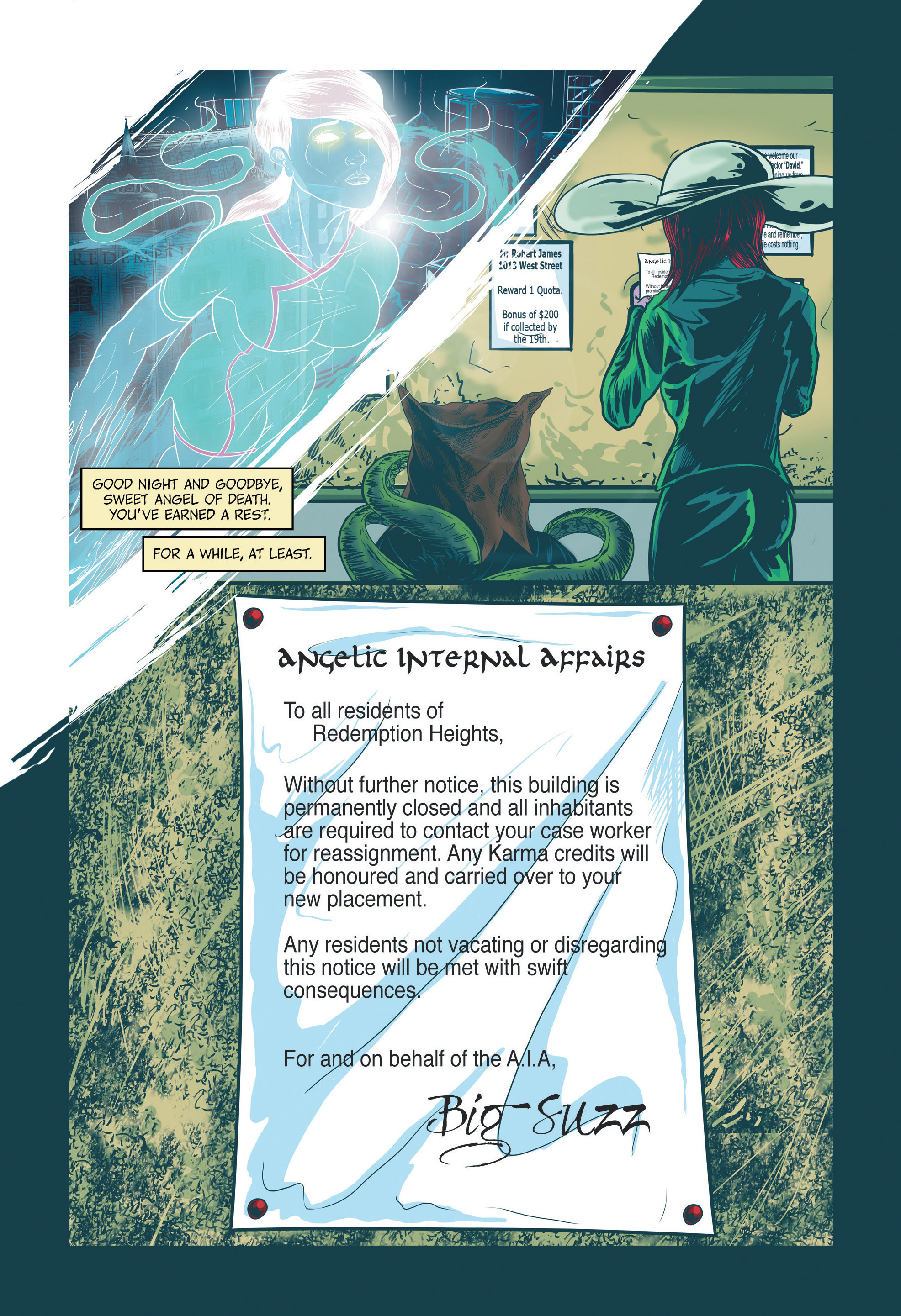 Read online Redemption Heights comic -  Issue # Full - 78