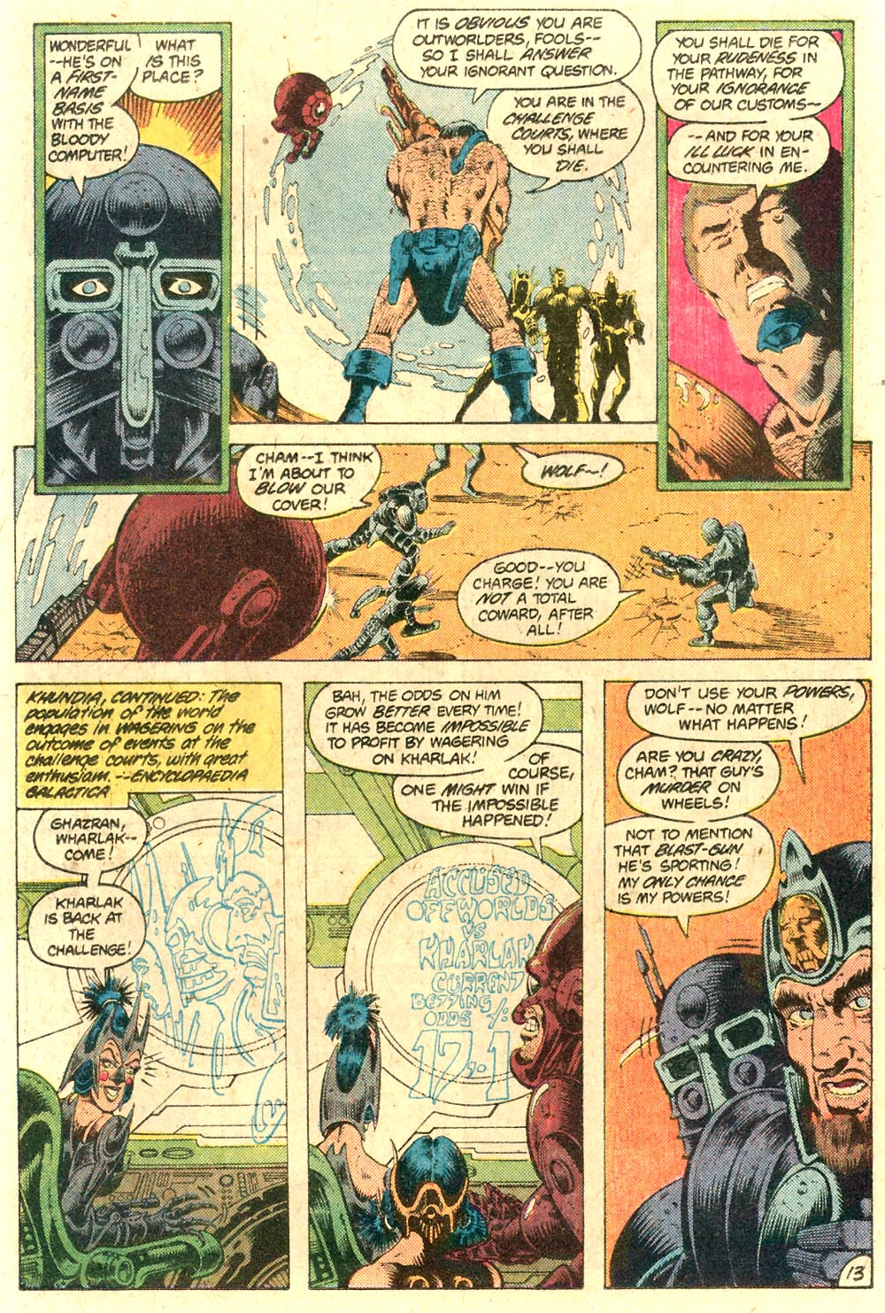 Legion of Super-Heroes (1980) 287 Page 13
