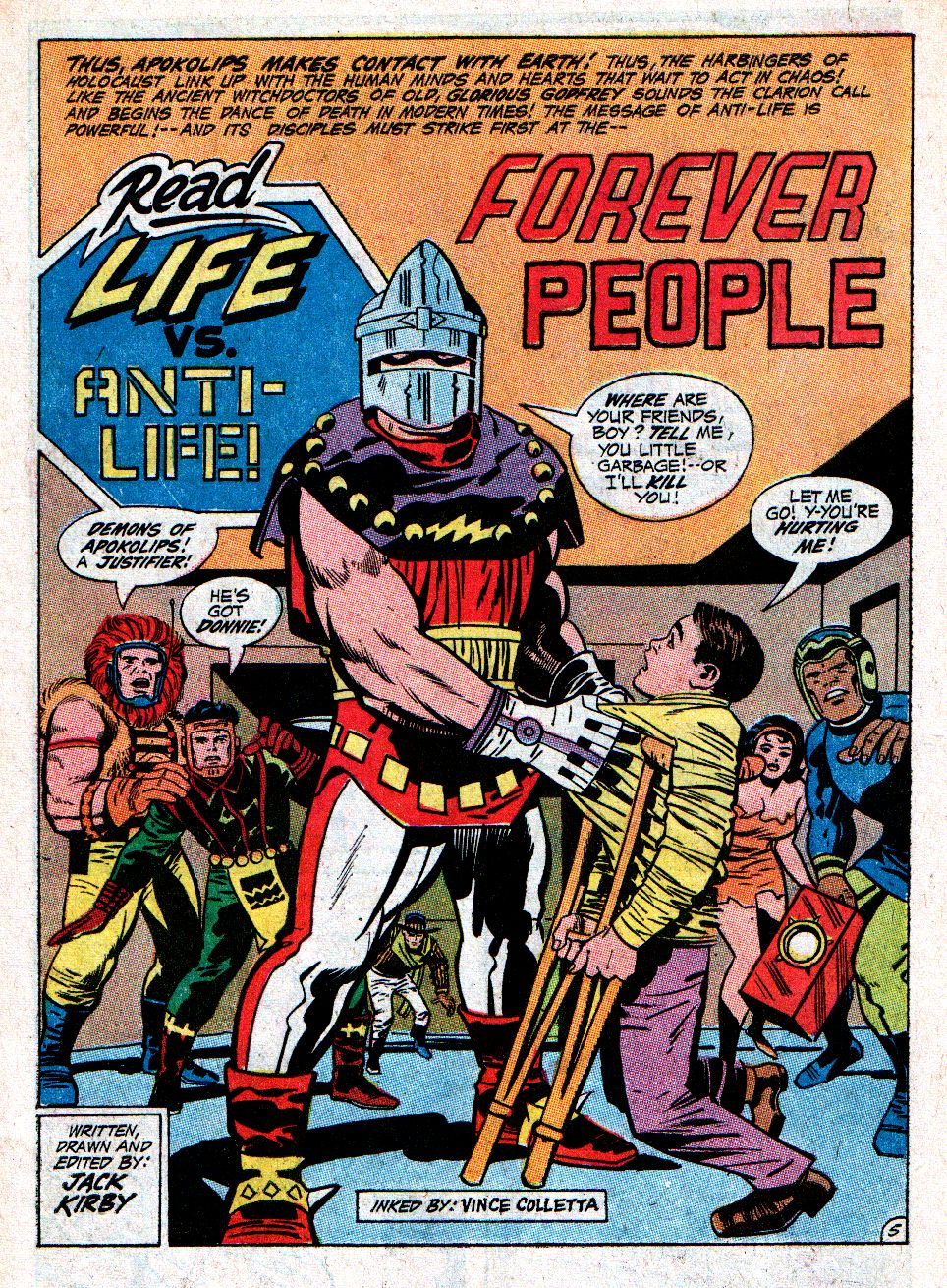 Forever People (1971) issue 3 - Page 6