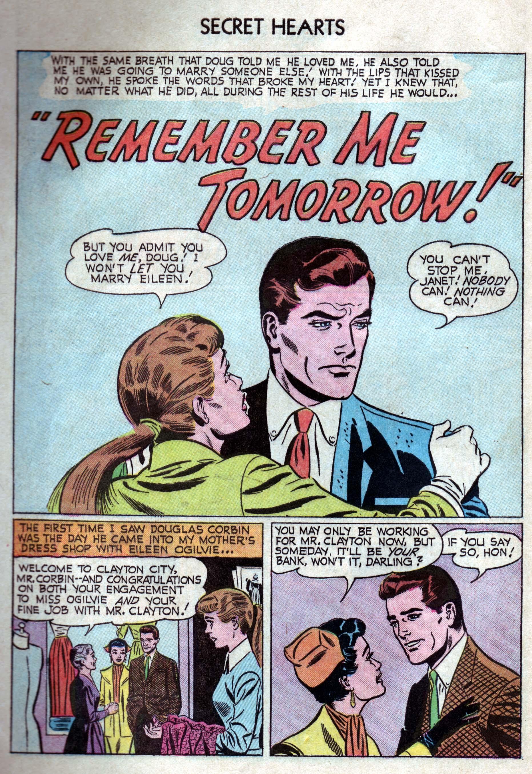 Read online Secret Hearts comic -  Issue #33 - 10