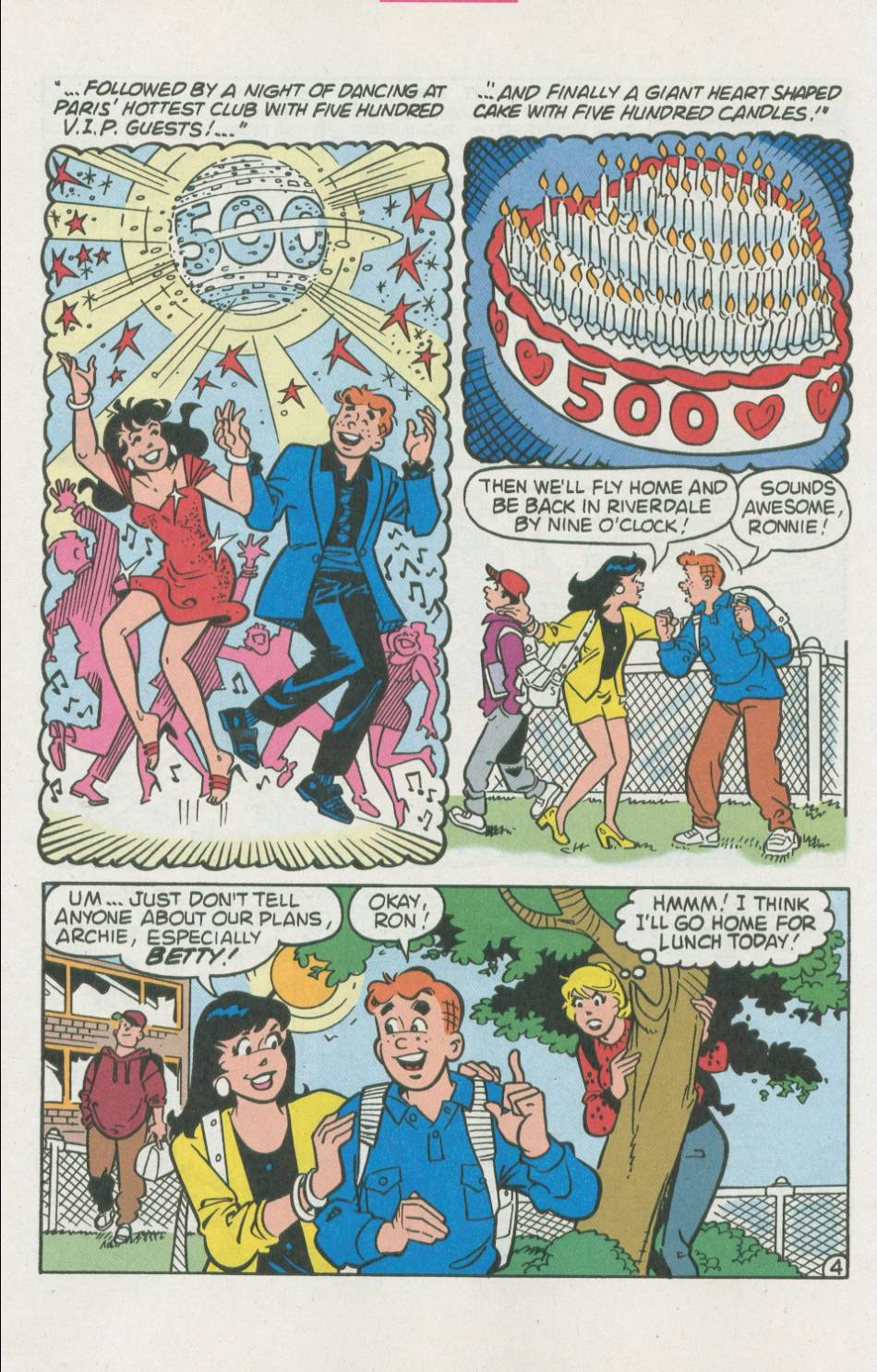 Read online Archie (1960) comic -  Issue #500 - 11
