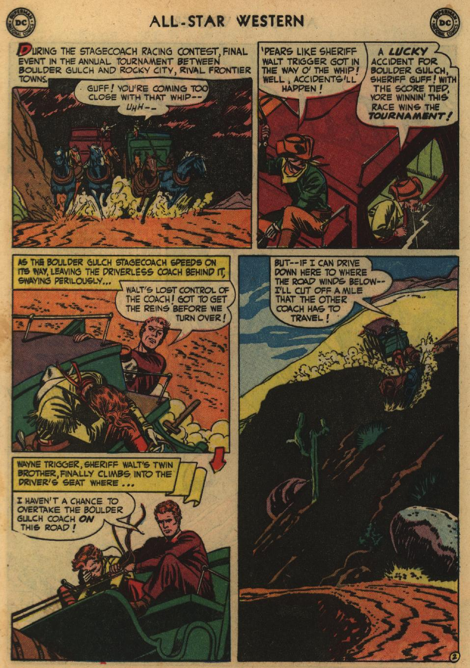 Read online All-Star Western (1951) comic -  Issue #60 - 4
