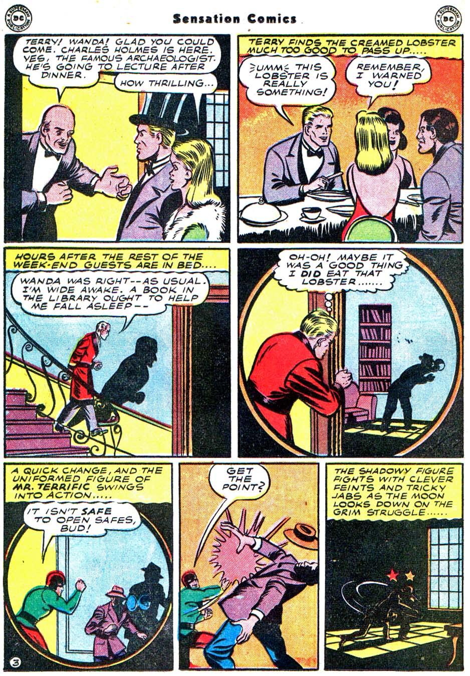 Read online Sensation (Mystery) Comics comic -  Issue #54 - 35