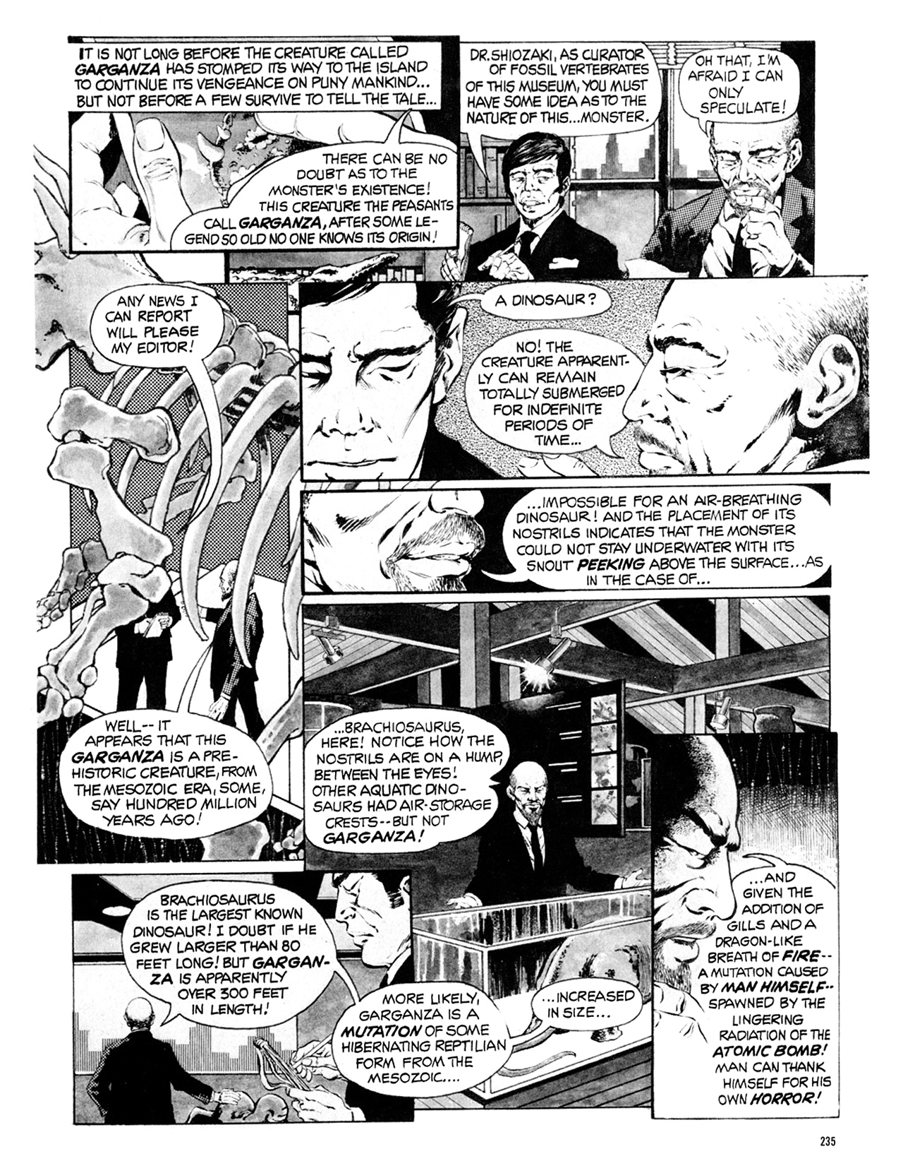 Read online Eerie Archives comic -  Issue # TPB 9 - 236
