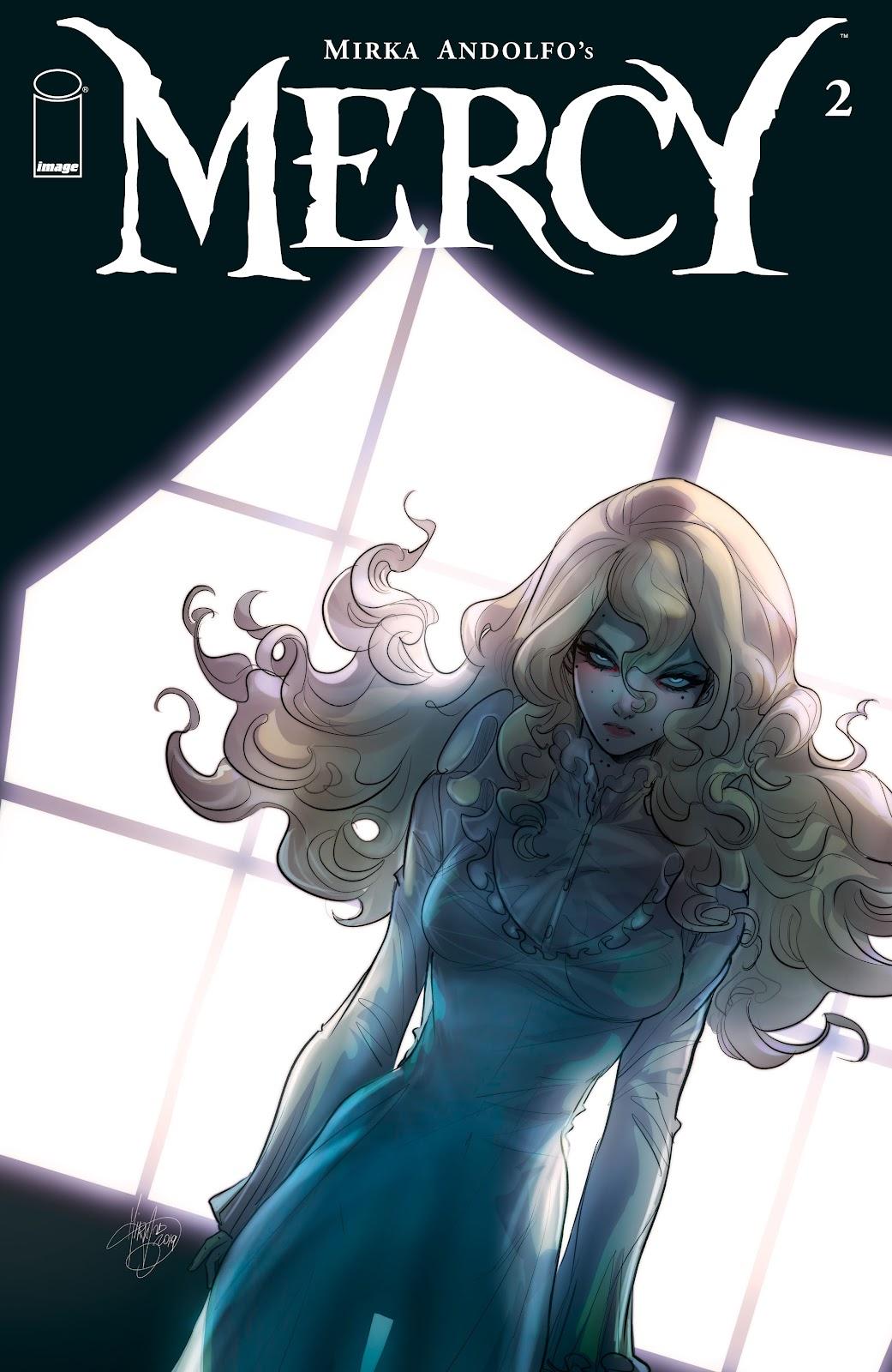 Read online Mirka Andolfo's Mercy comic -  Issue #2 - 1