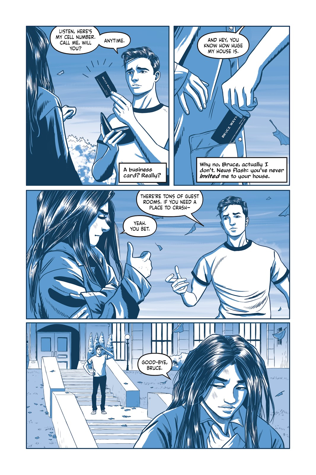 Read online Under the Moon: A Catwoman Tale comic -  Issue # TPB (Part 1) - 79