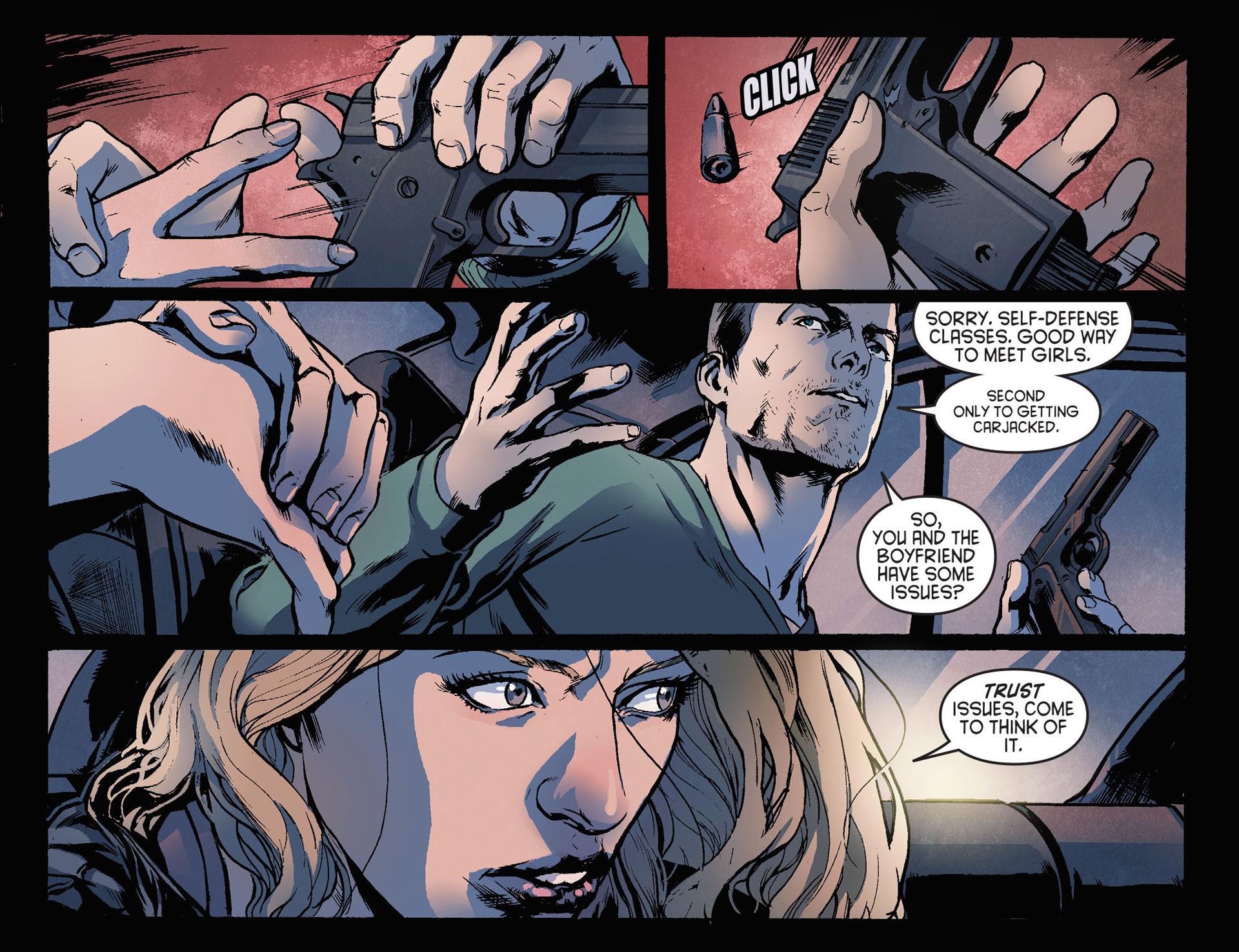 Read online Arrow [II] comic -  Issue #21 - 12