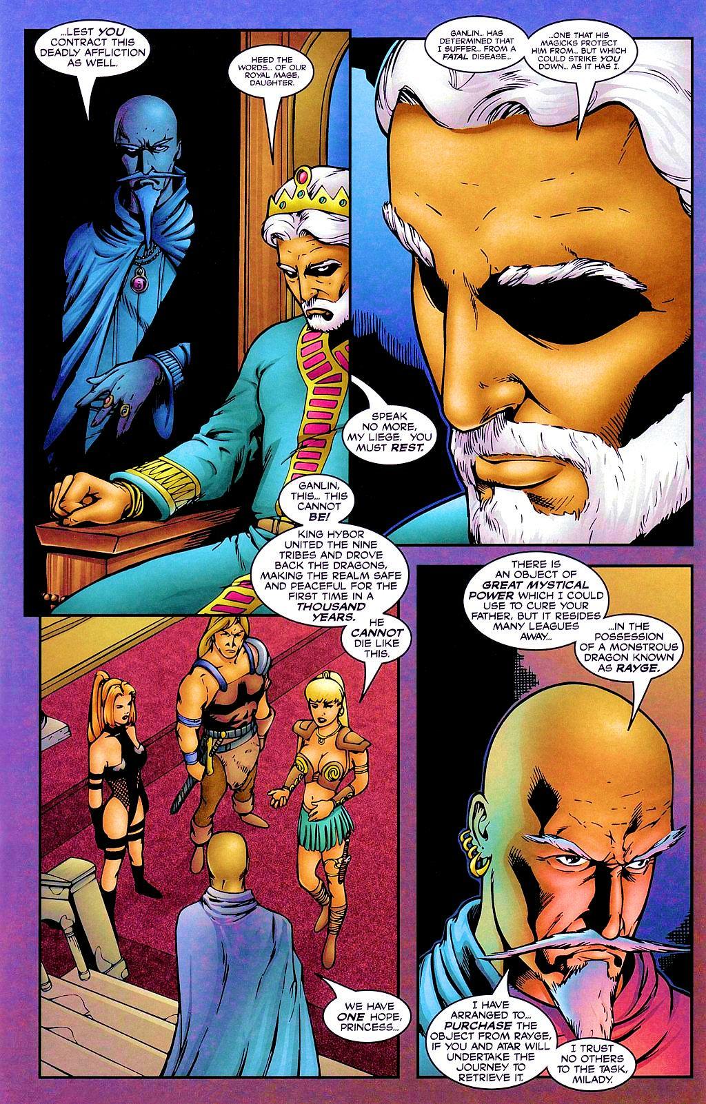 Read online Avengelyne: Dragon Realm comic -  Issue #1 - 14
