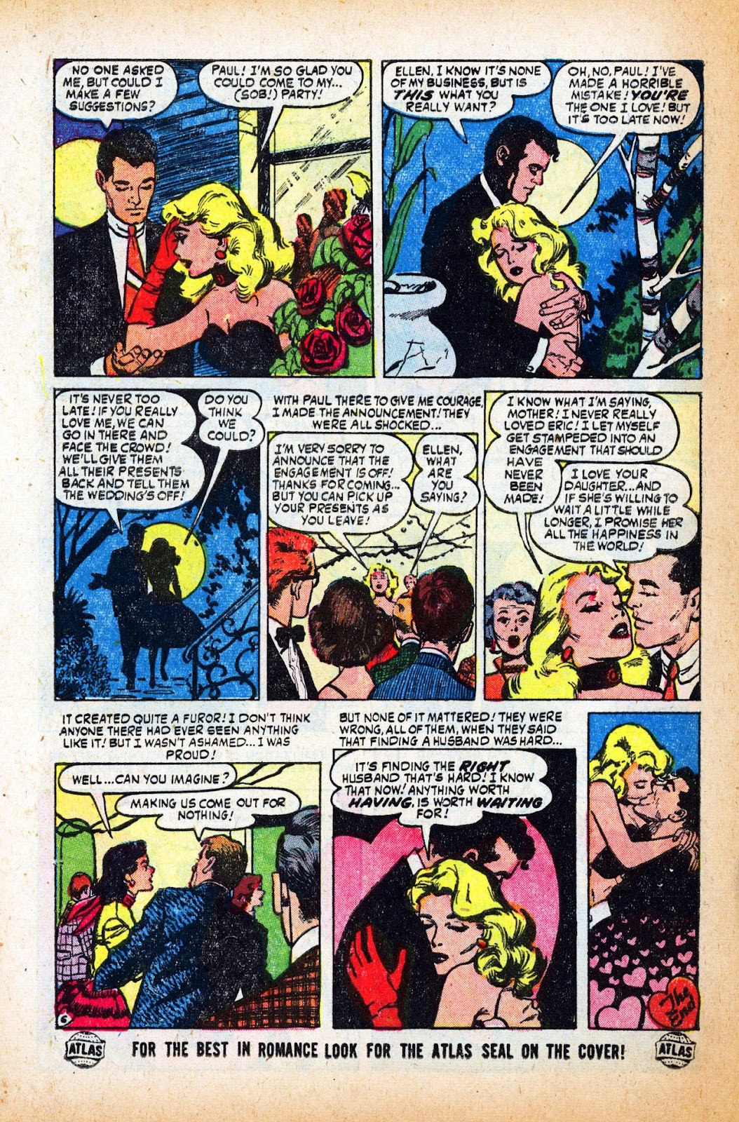 Love Romances (1949) issue 47 - Page 8
