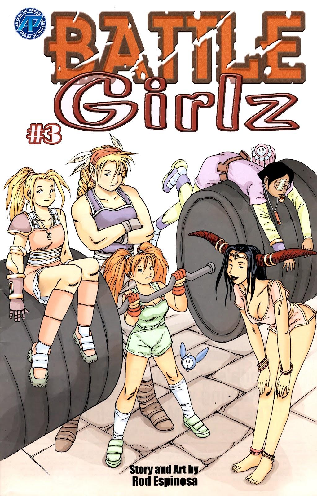Battle Girlz 3 Page 1
