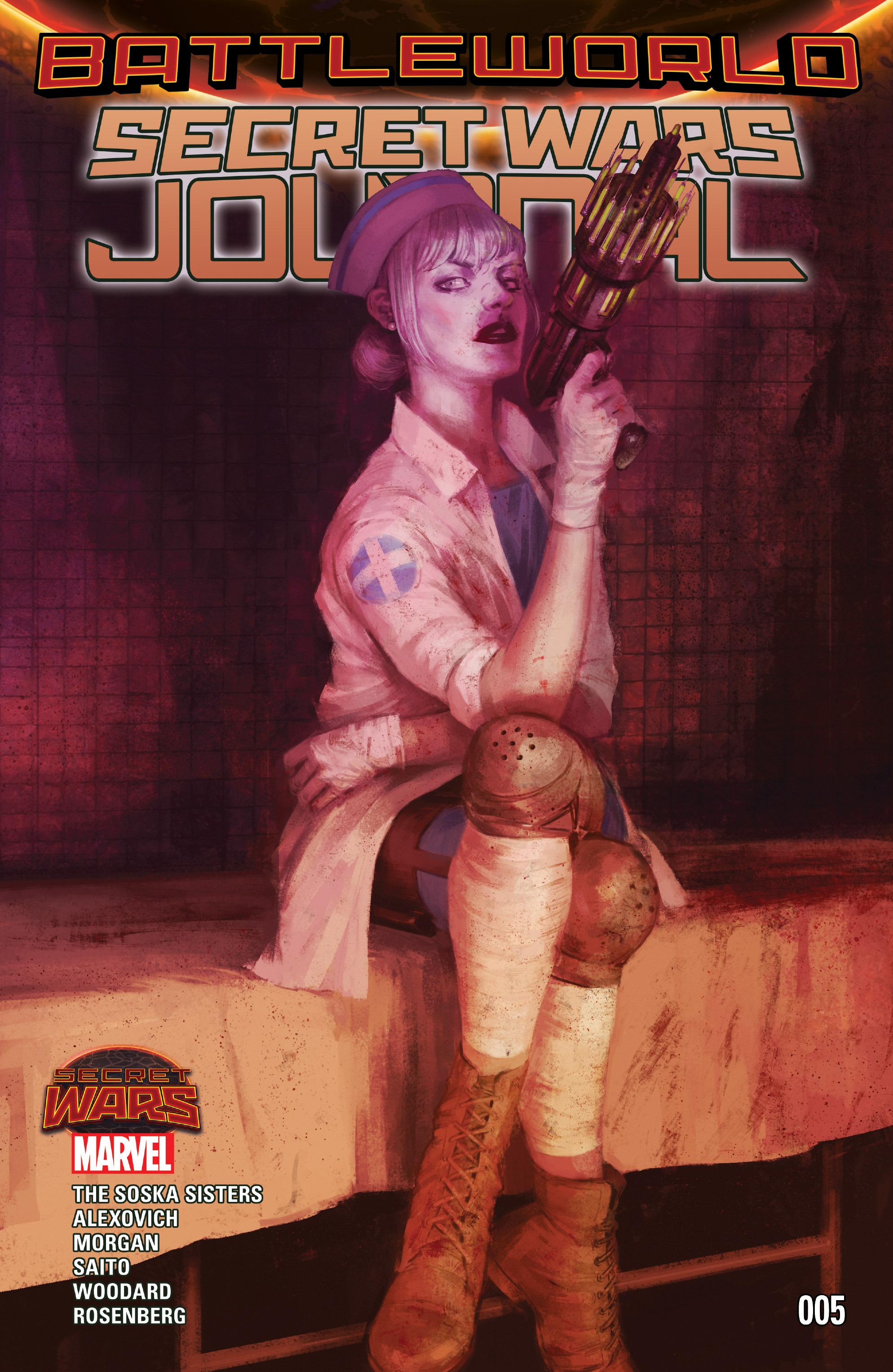 Read online Secret Wars Journal/Battleworld comic -  Issue # TPB - 67
