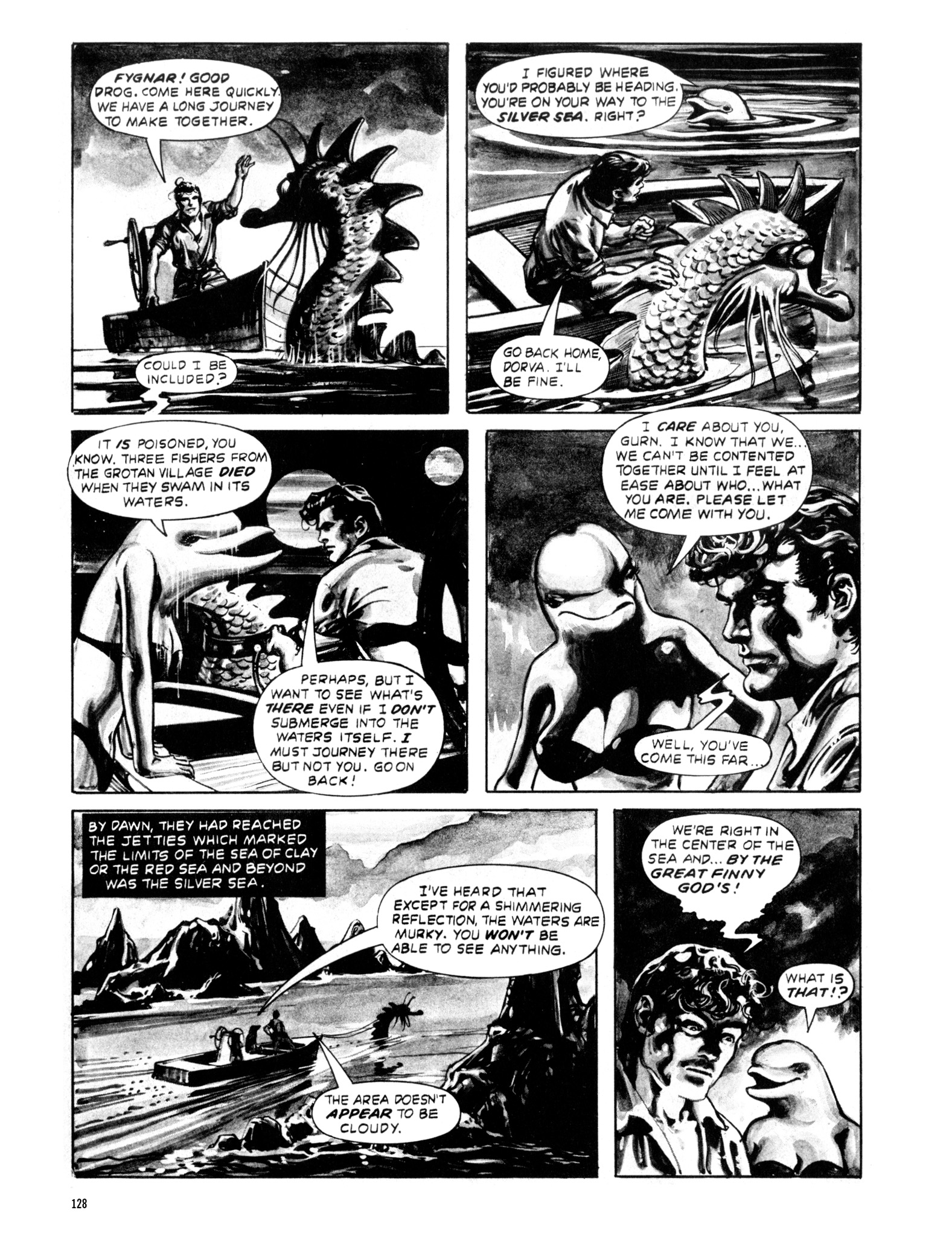 Read online Eerie Archives comic -  Issue # TPB 20 - 128