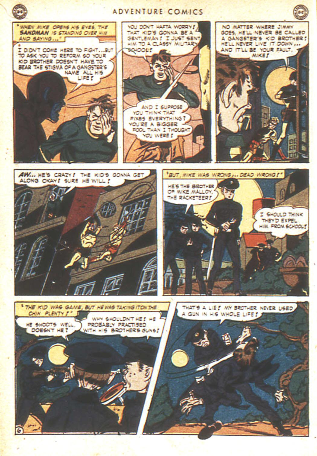 Read online Adventure Comics (1938) comic -  Issue #92 - 7