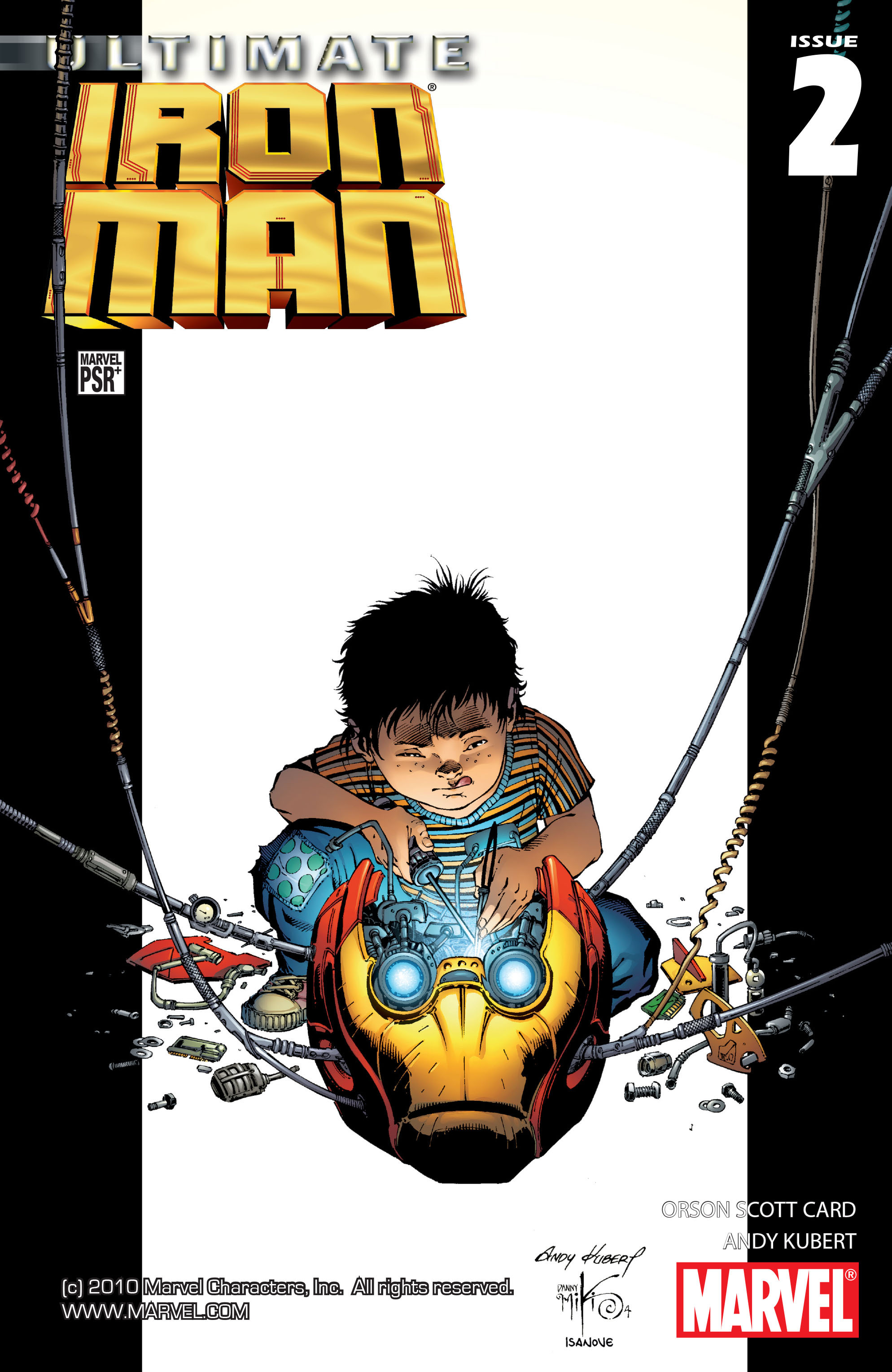 Read online Ultimate Iron Man (2005) comic -  Issue #2 - 1