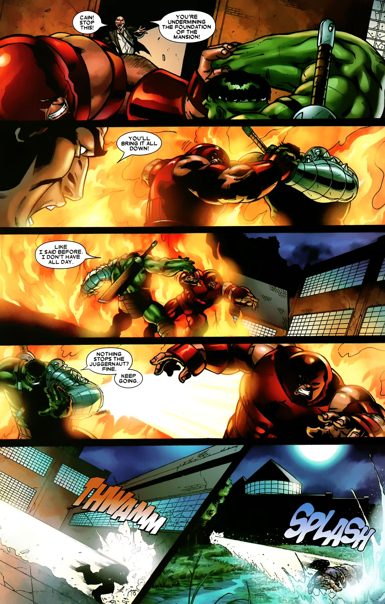Read online World War Hulk: X-Men comic -  Issue #3 - 19