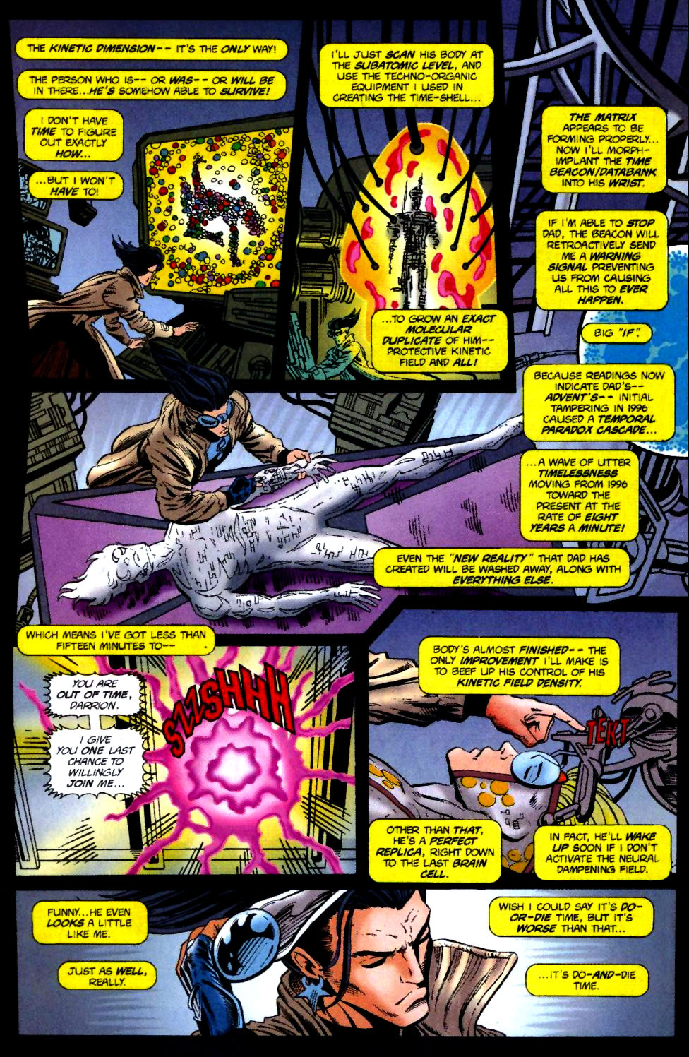 The New Warriors Issue #70 #74 - English 14