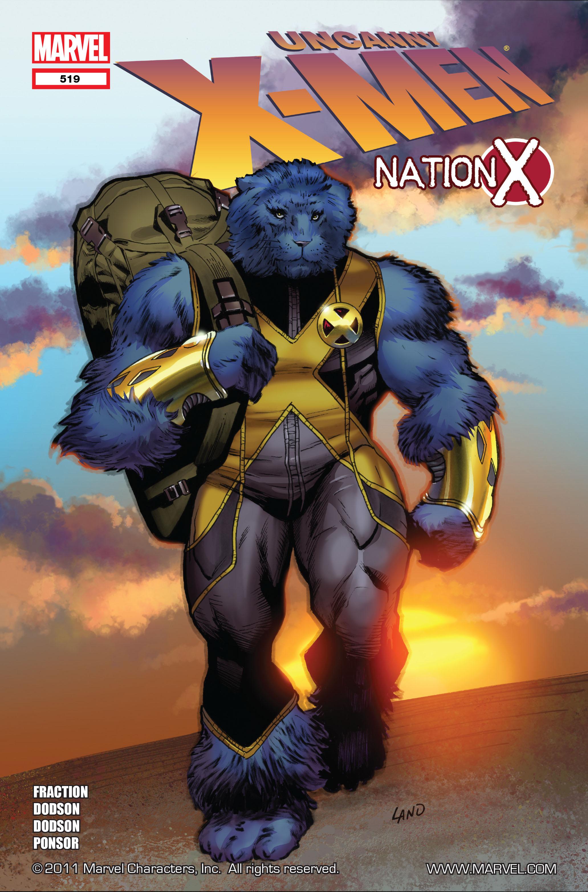 Read online Uncanny X-Men (1963) comic -  Issue #519 - 1