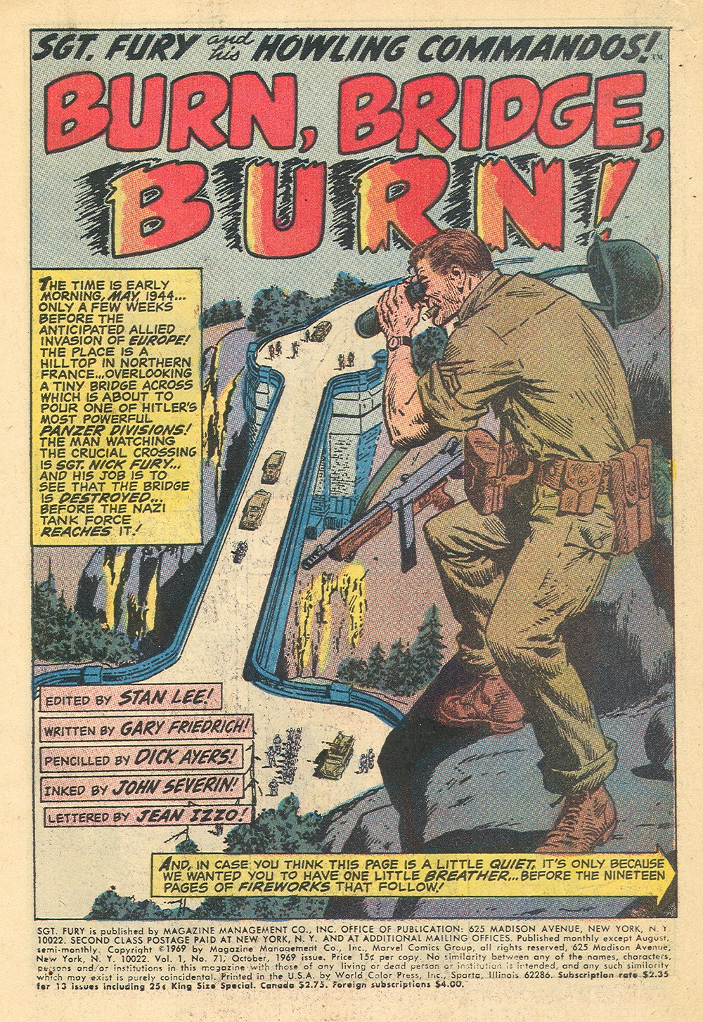 Read online Sgt. Fury comic -  Issue #71 - 3