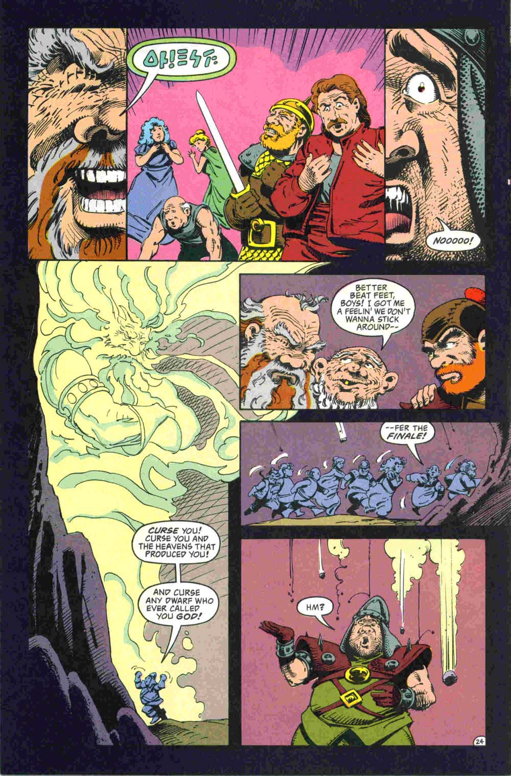 Read online Advanced Dungeons & Dragons comic -  Issue #32 - 25