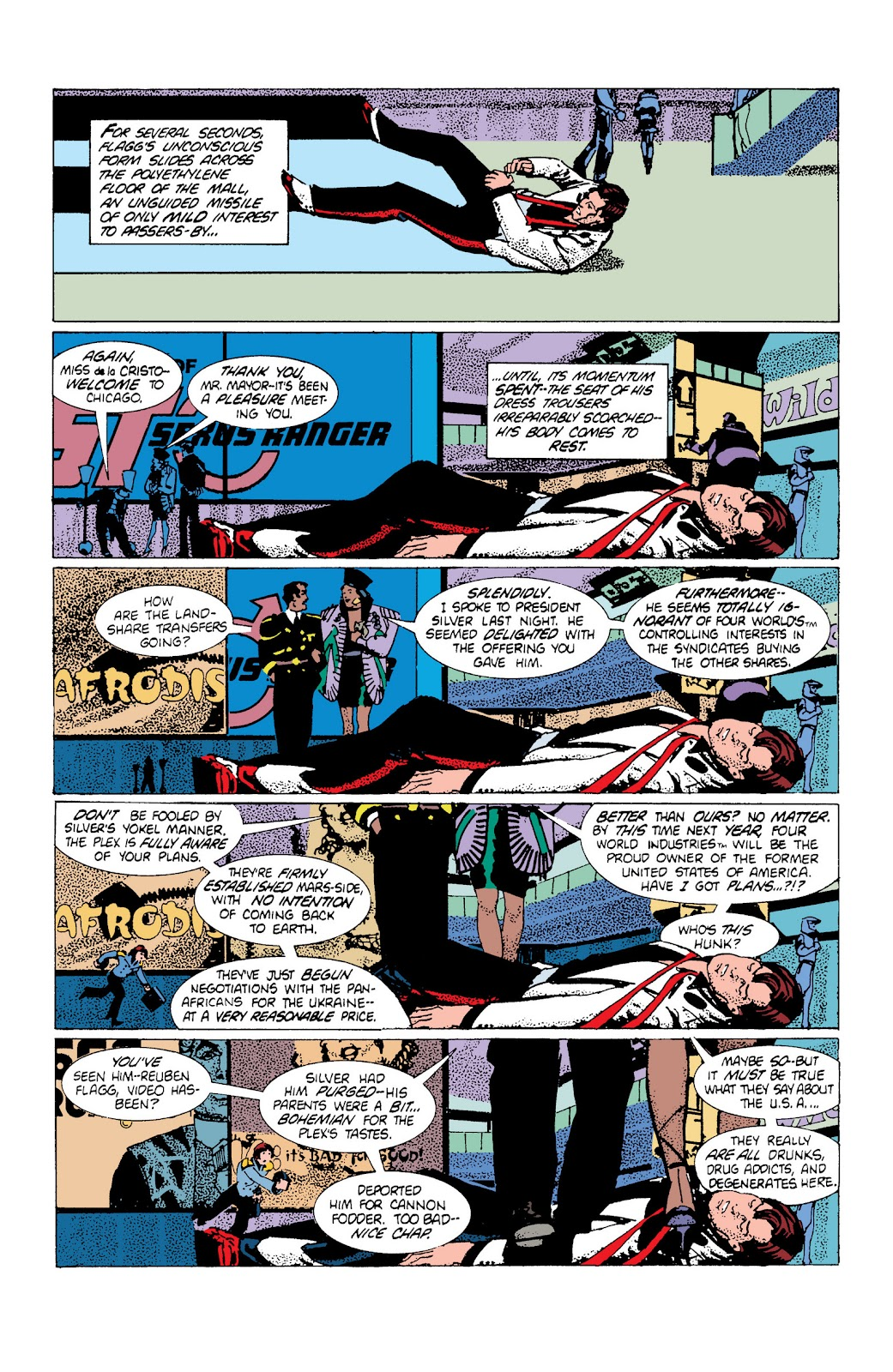American Flagg! issue Definitive Collection (Part 1) - Page 70