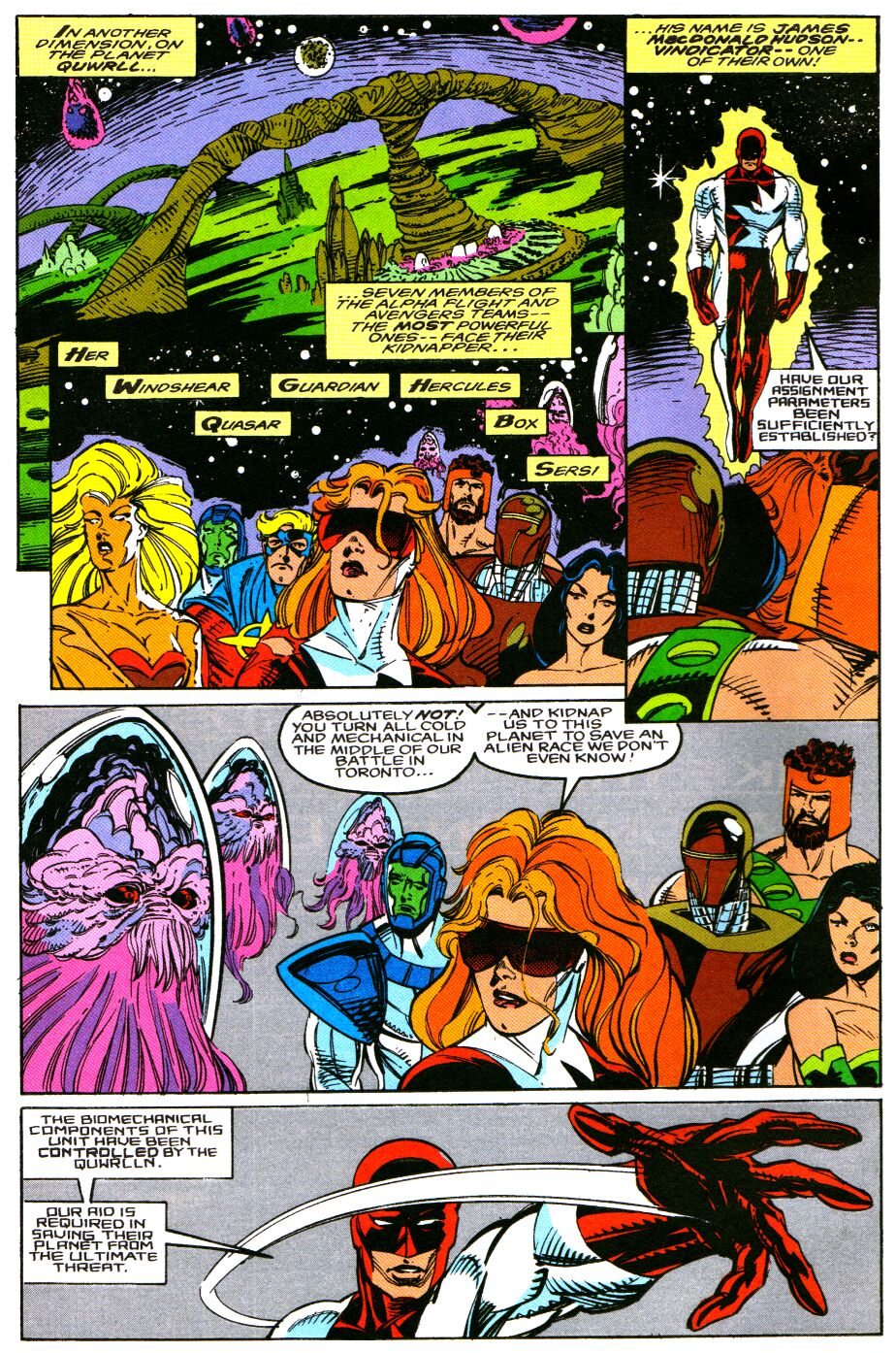 Read online Alpha Flight Special comic -  Issue #4 - 6