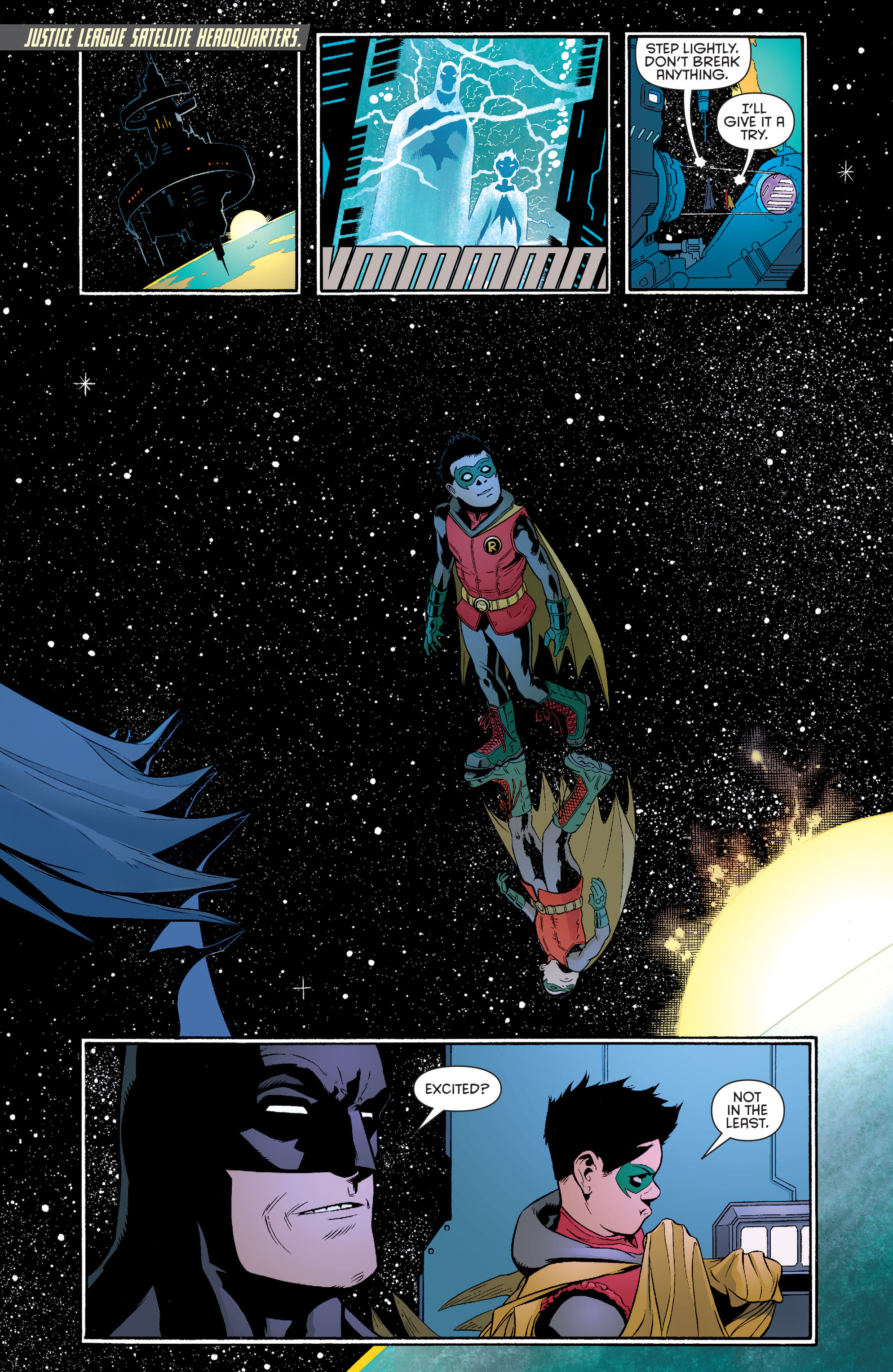 Read online Batman and Robin (2011) comic -  Issue #39 - 16