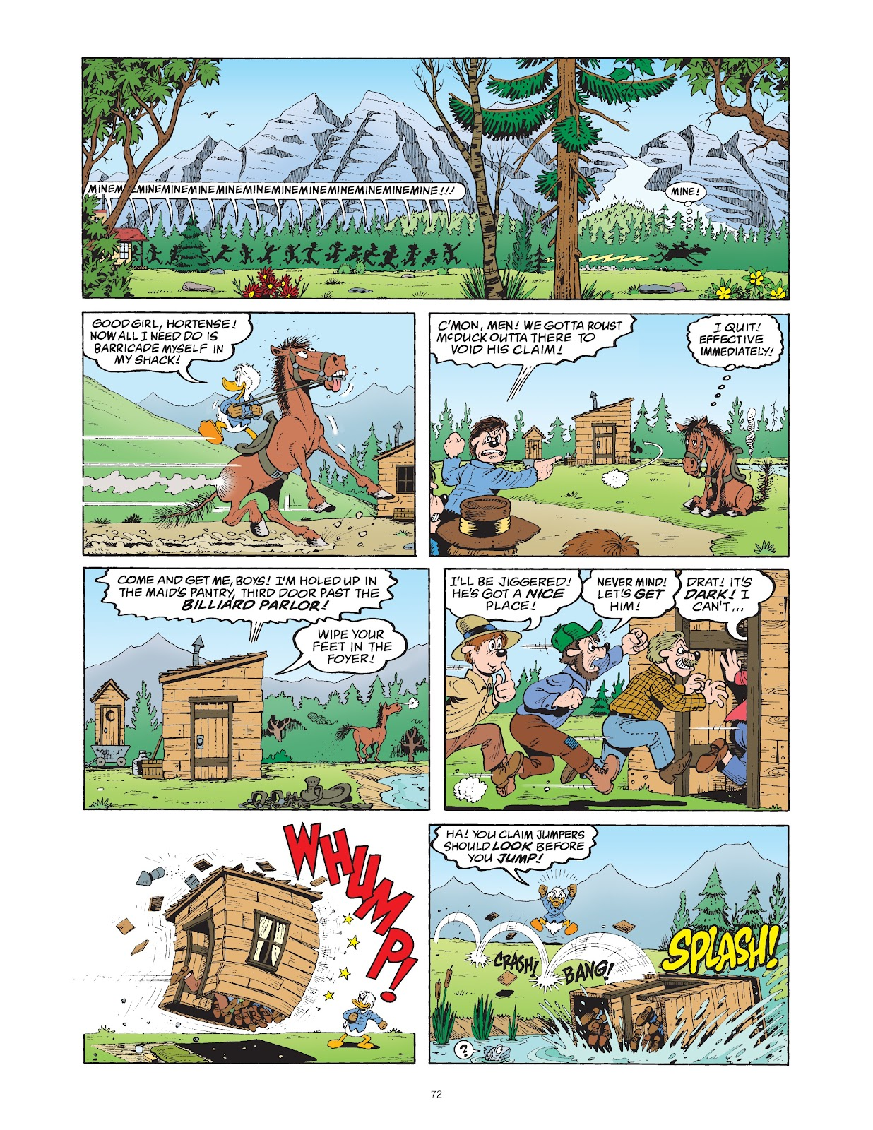 Read online The Complete Life and Times of Scrooge McDuck comic -  Issue # TPB 1 (Part 1) - 76