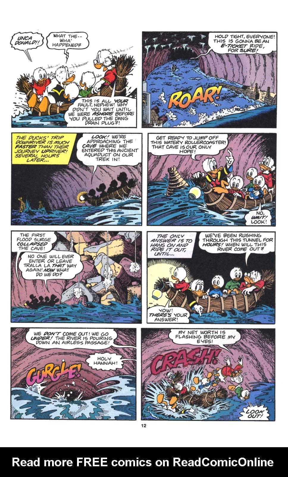 Read online Uncle Scrooge (1953) comic -  Issue #262 - 13