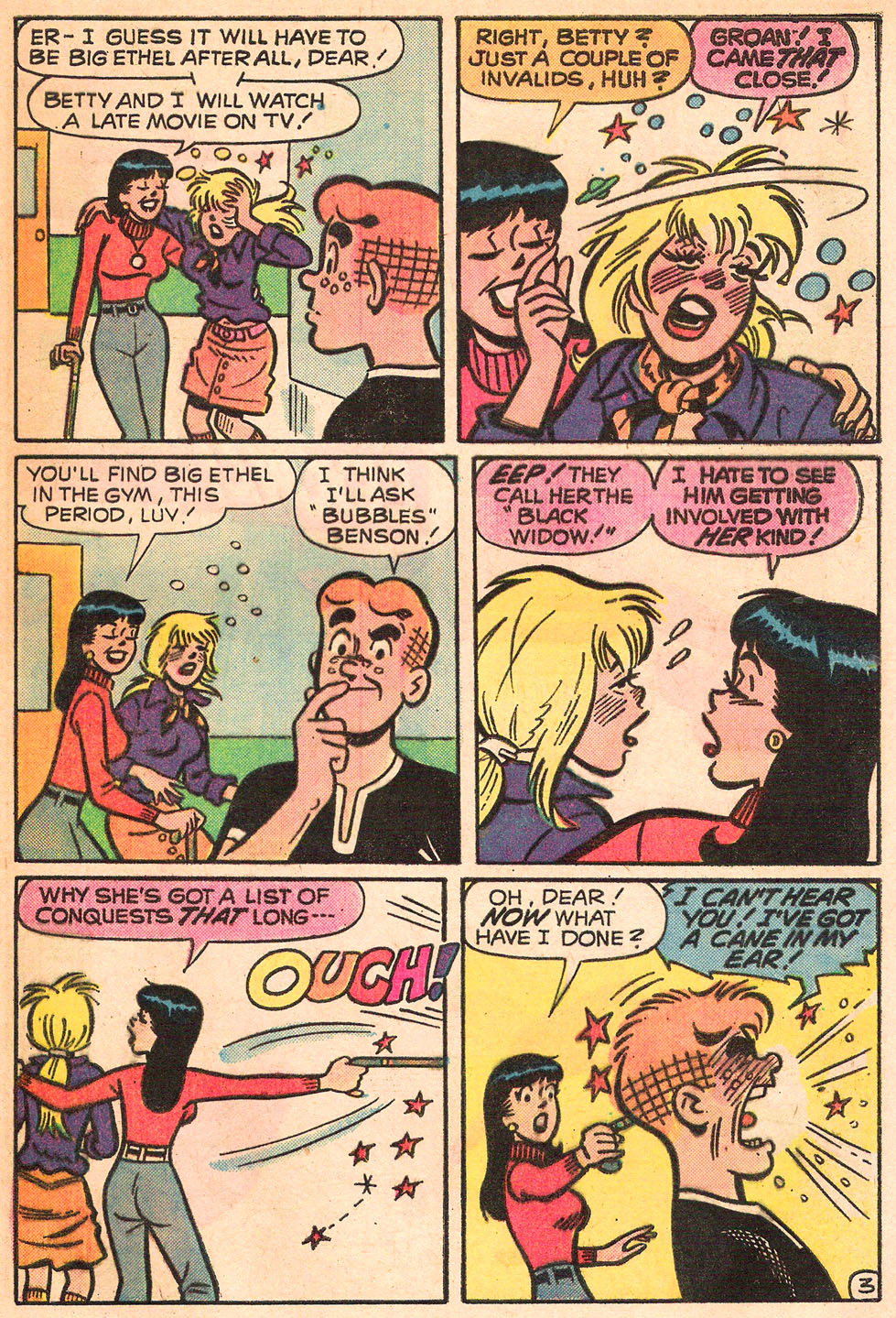 Read online Archie's Girls Betty and Veronica comic -  Issue #242 - 5