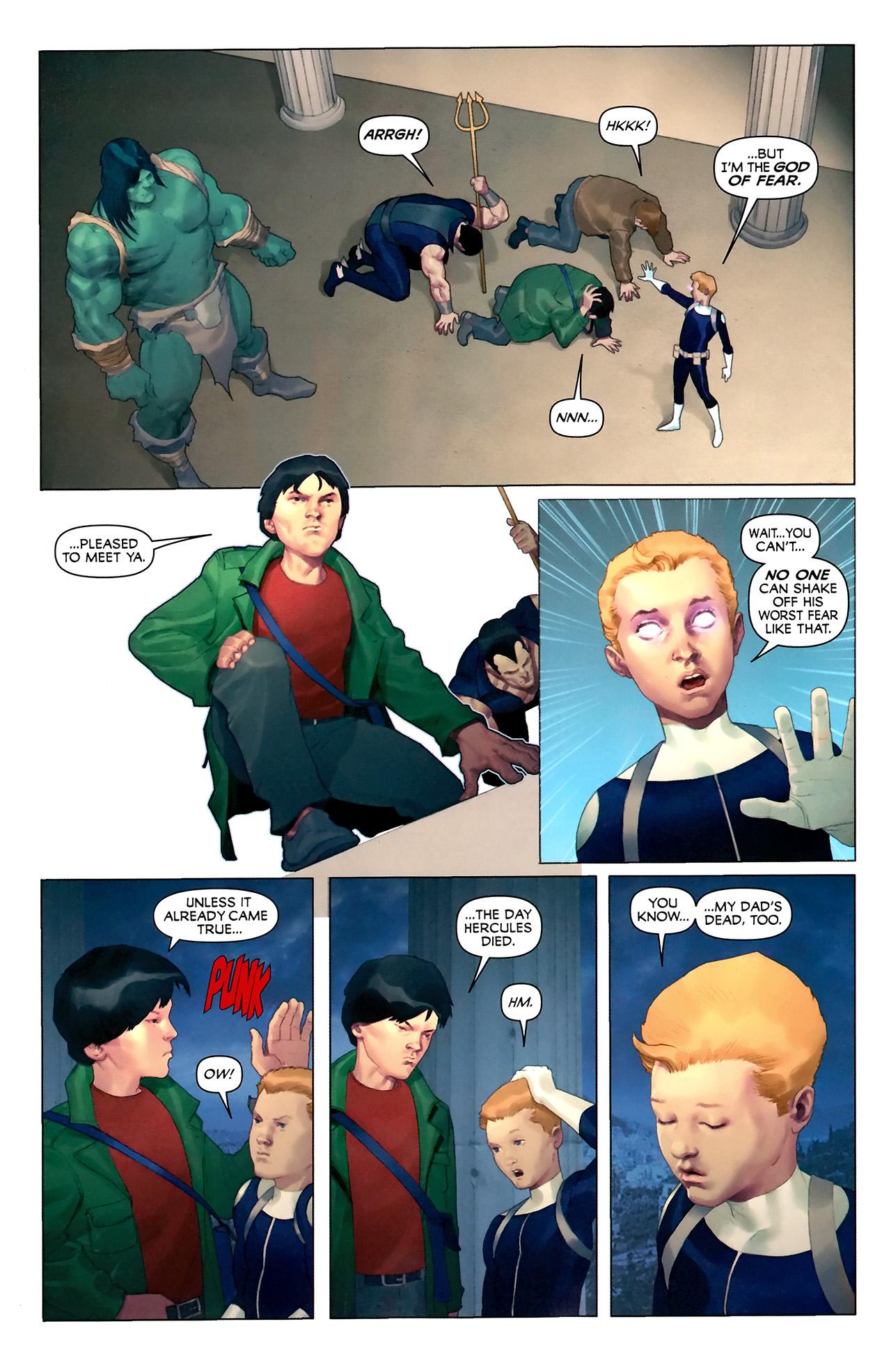 Read online Hercules: Fall of an Avenger comic -  Issue #2 - 14