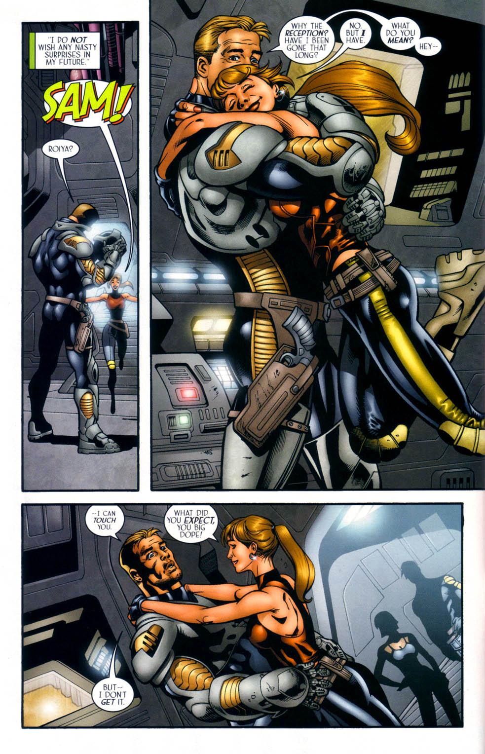 Read online Sigil (2000) comic -  Issue #33 - 7