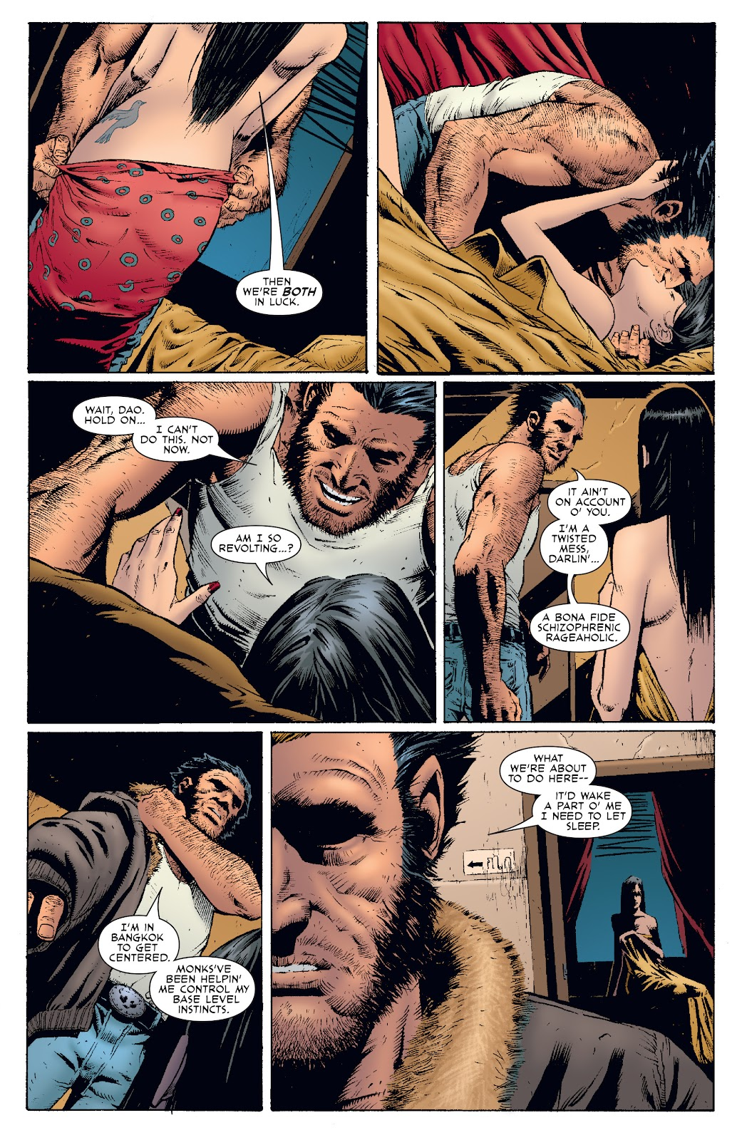 Wolverine: Dangerous Games issue Full - Page 28