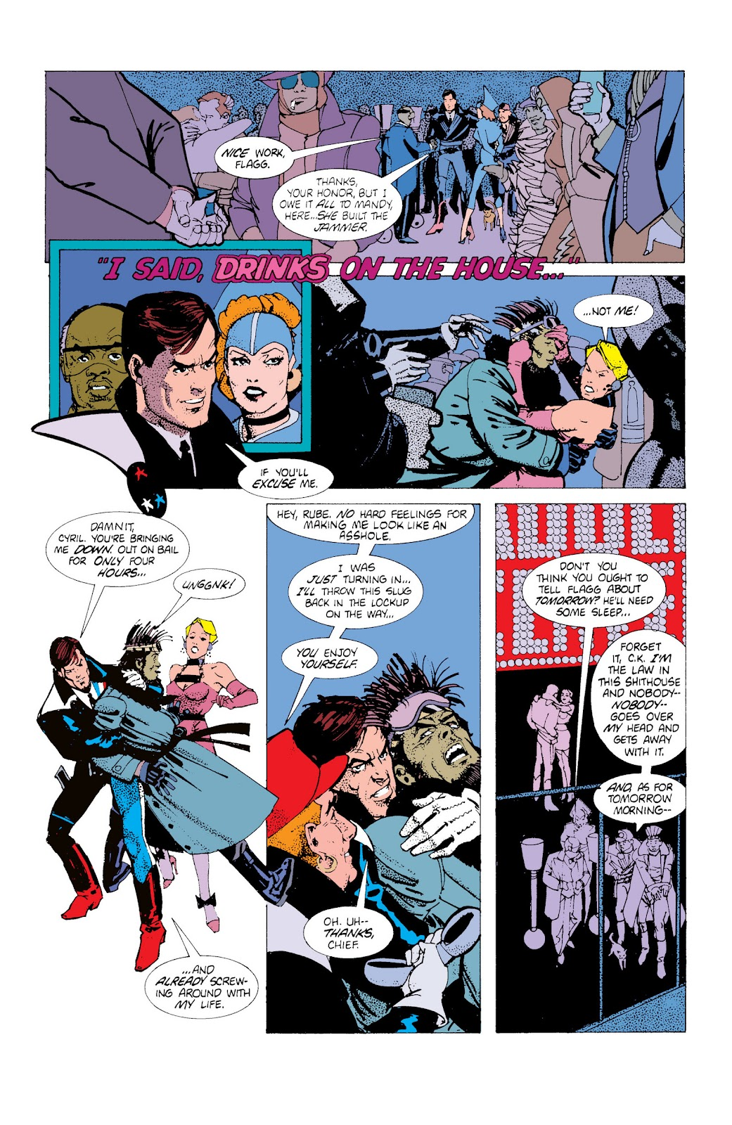 American Flagg! issue Definitive Collection (Part 1) - Page 56