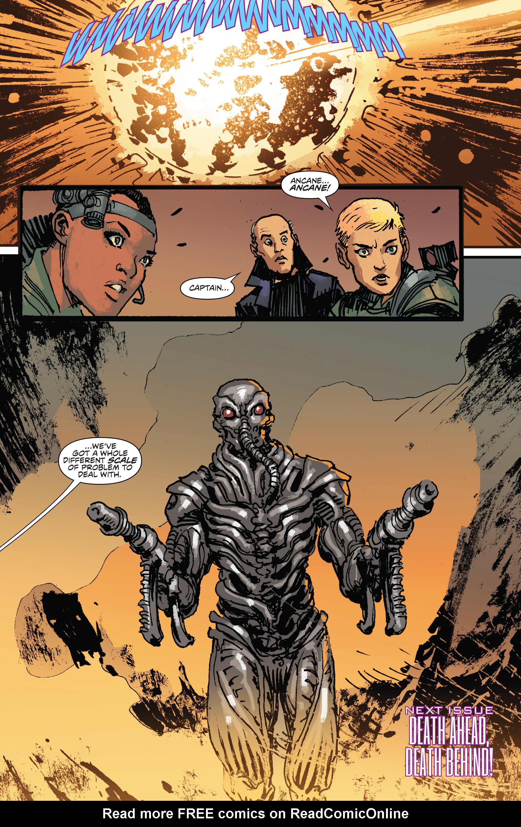 Read online Aliens: Life And Death comic -  Issue #3 - 24