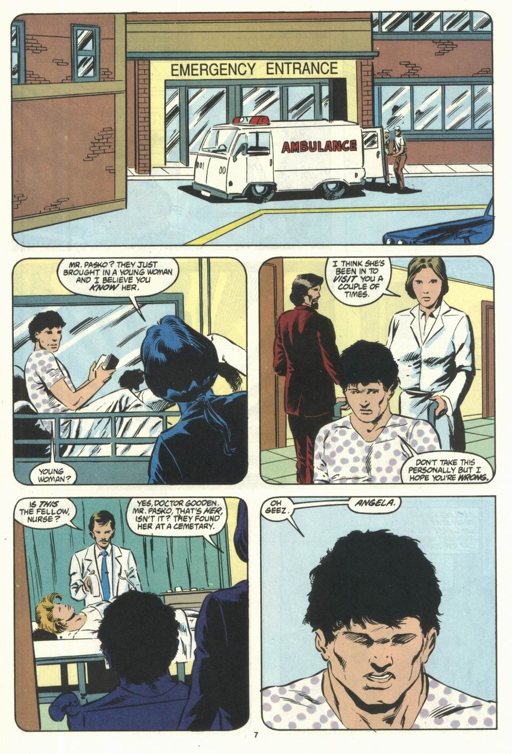 Read online Justice (1986) comic -  Issue #28 - 9