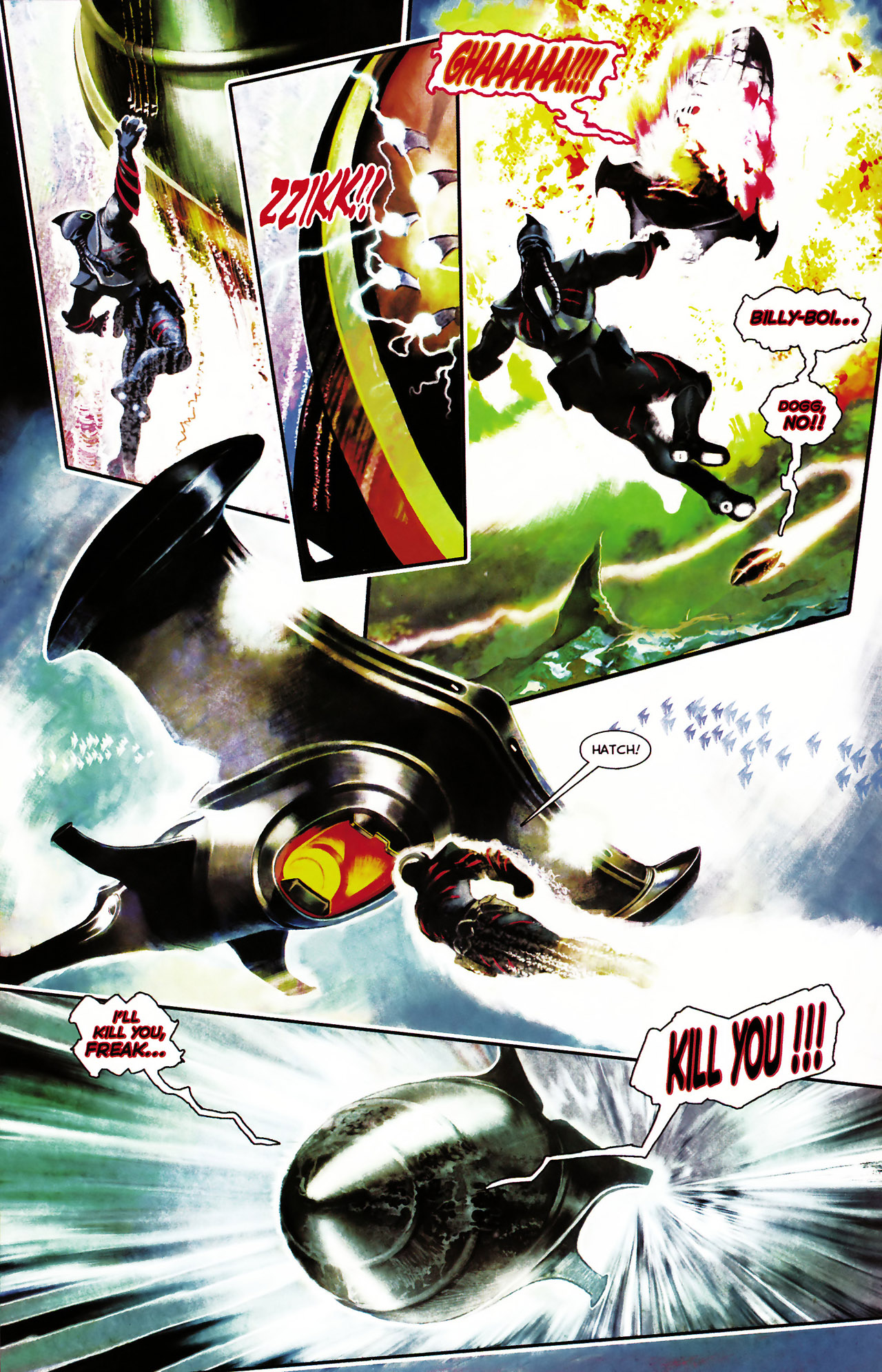 Read online Shark-Man comic -  Issue #1 - 16