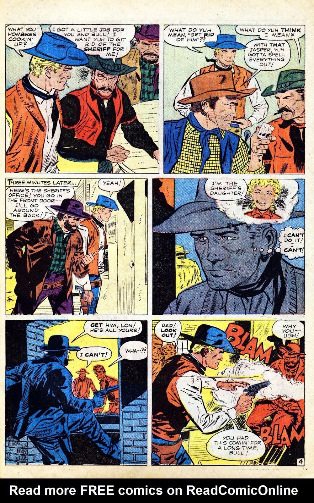Gunsmoke Western issue 65 - Page 31