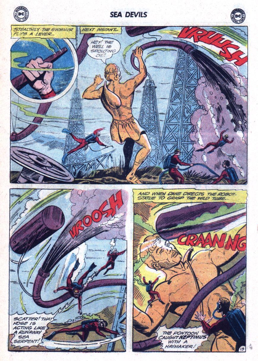 Read online Sea Devils comic -  Issue #25 - 18