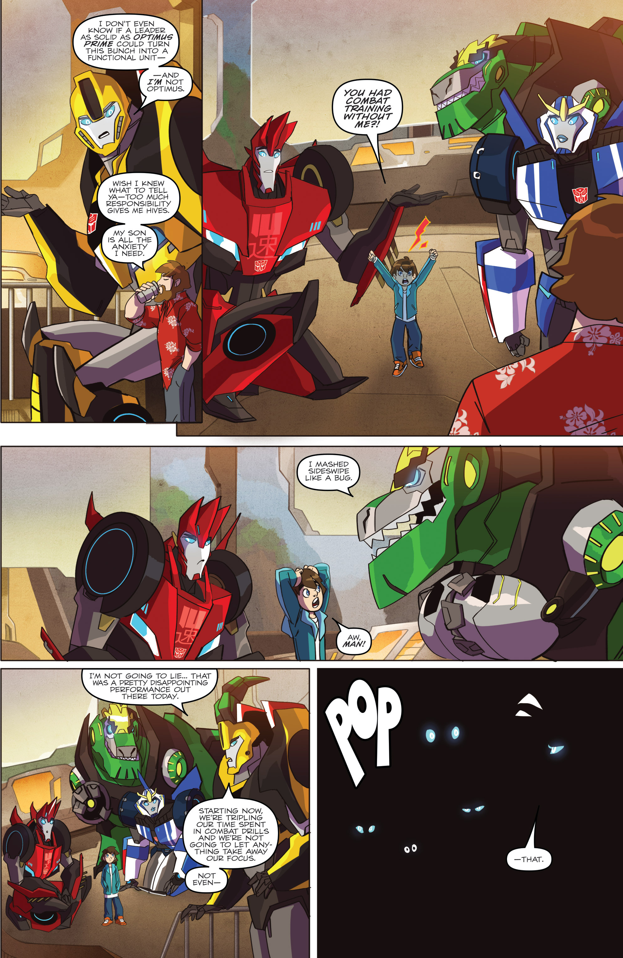 Read online Transformers: Robots In Disguise (2015) comic -  Issue #1 - 7