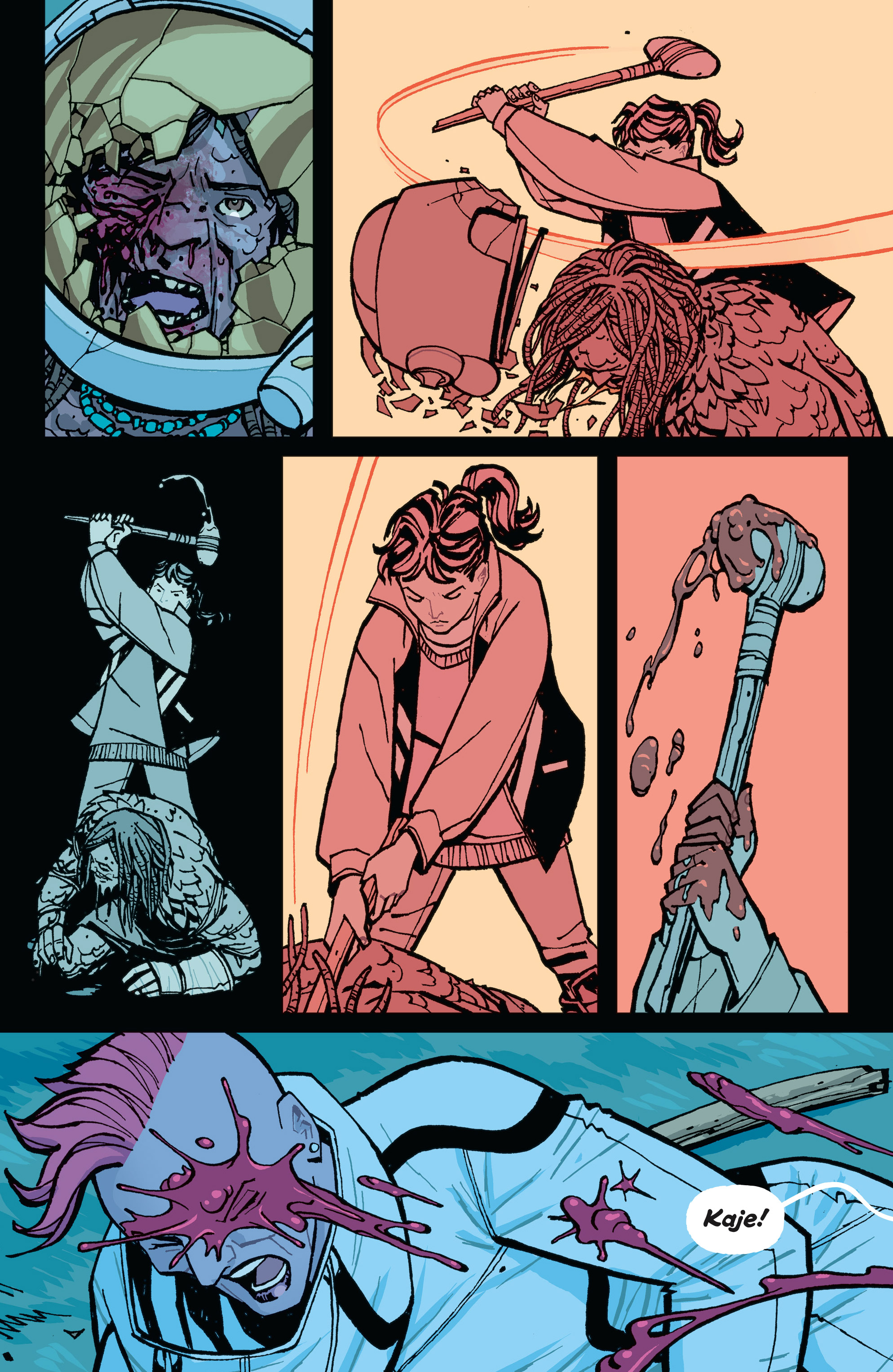 Read online Paper Girls comic -  Issue #15 - 21