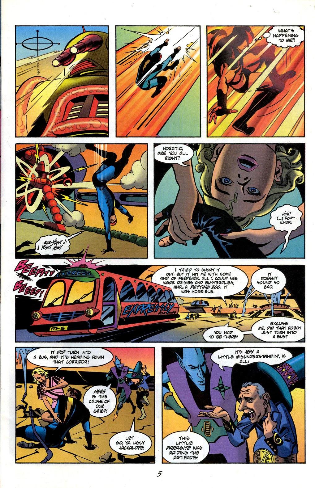 Read online Nexus Meets Madman comic -  Issue # Full - 7